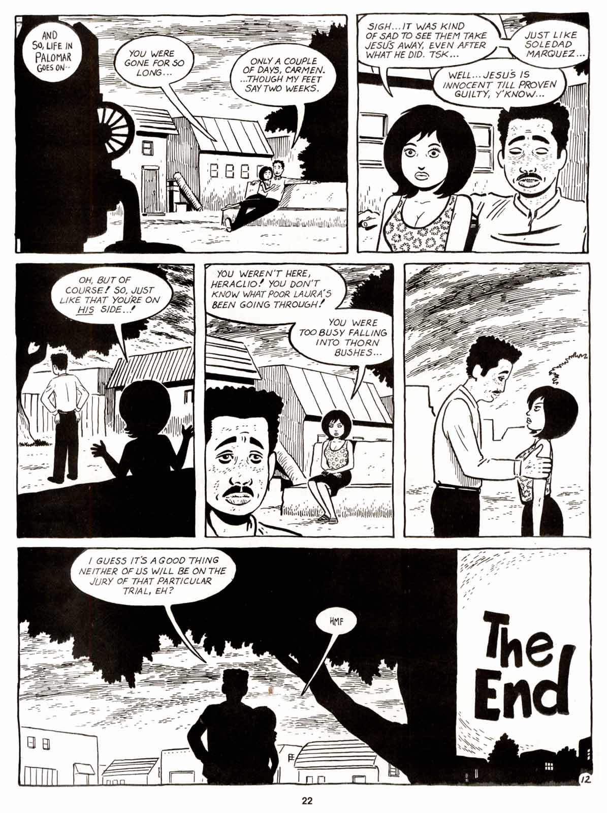 Love and Rockets (1982) Issue #9 #8 - English 24