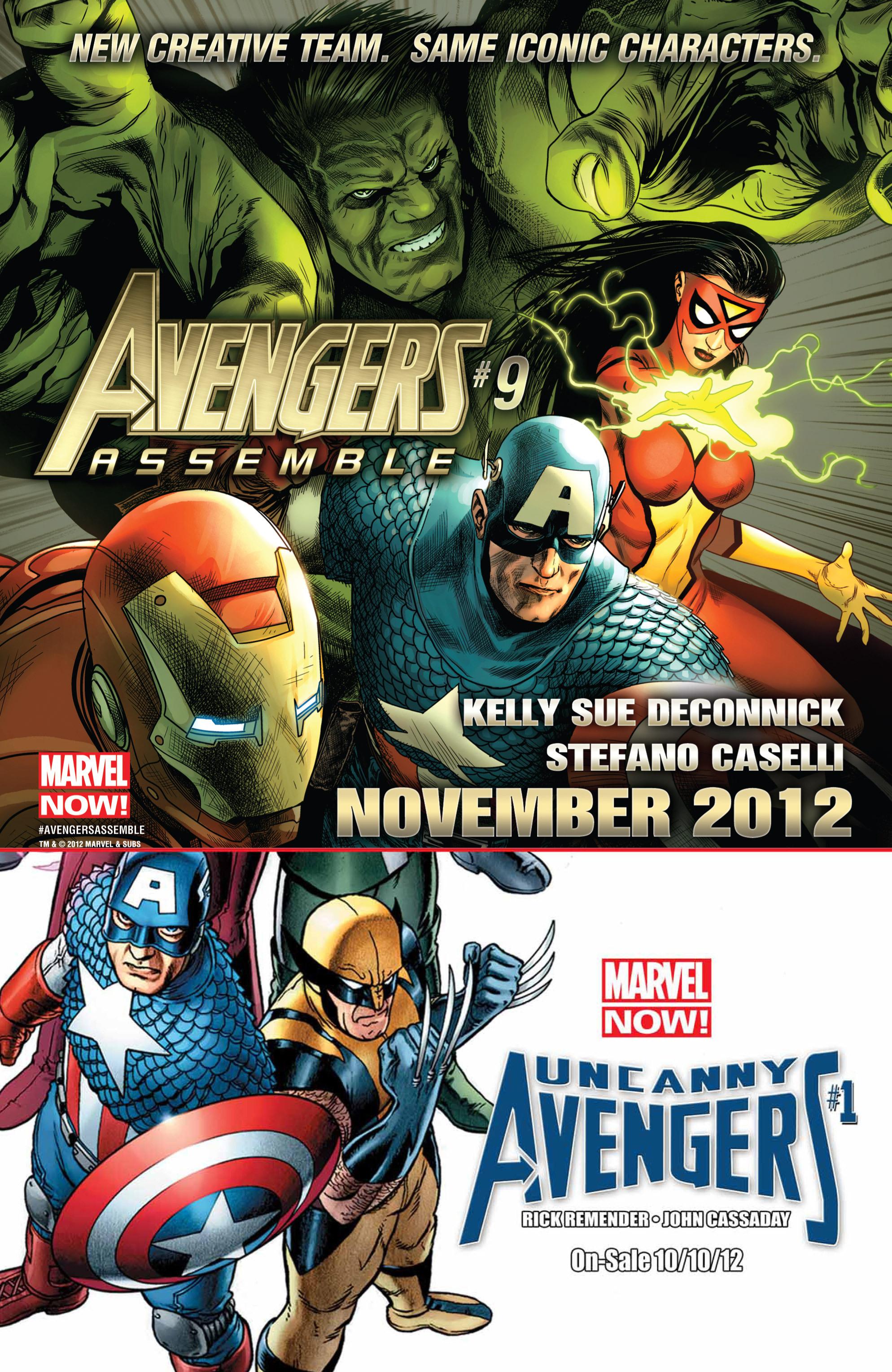 Read online Secret Avengers (2010) comic -  Issue #32 - 19