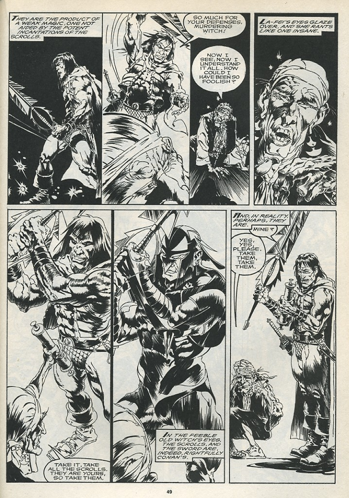 The Savage Sword Of Conan Issue #175 #176 - English 51
