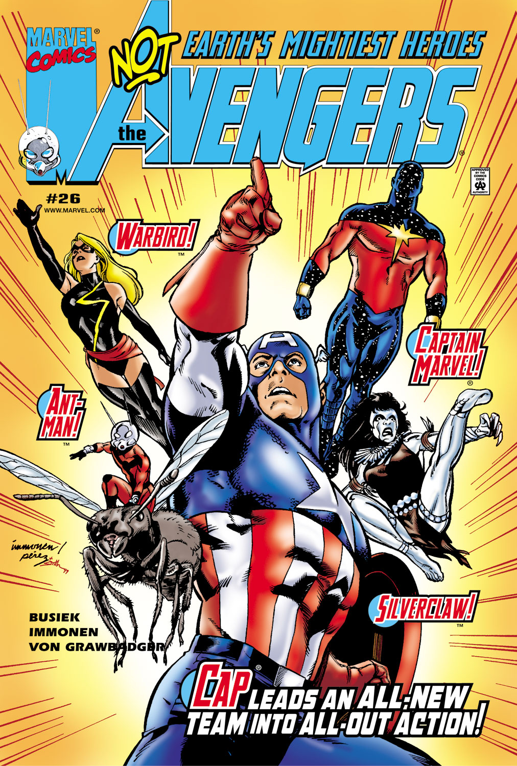 Read online Avengers (1998) comic -  Issue #26 - 1