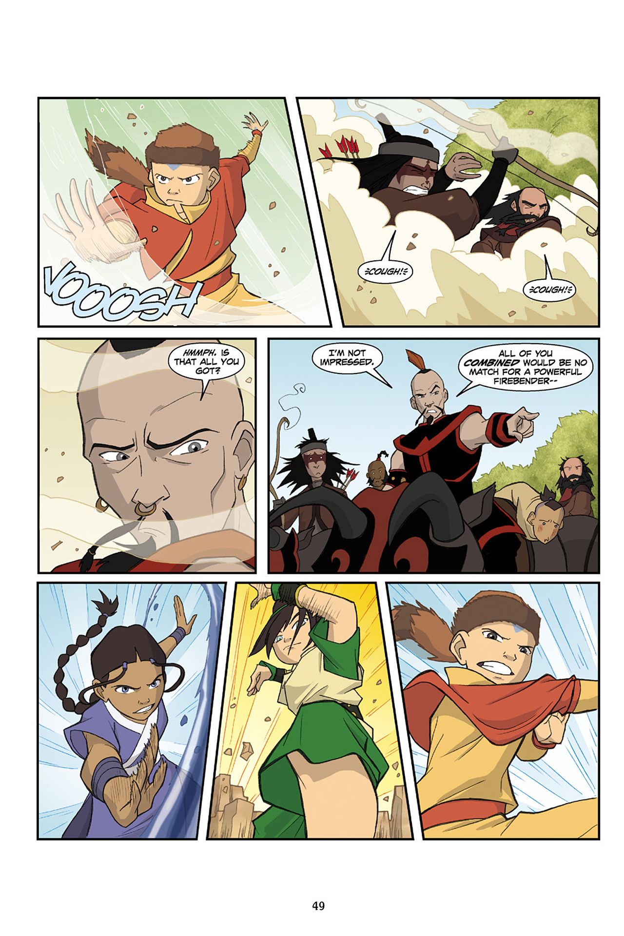 Nickelodeon Avatar: The Last Airbender - The Lost Adventures chap full pic 50