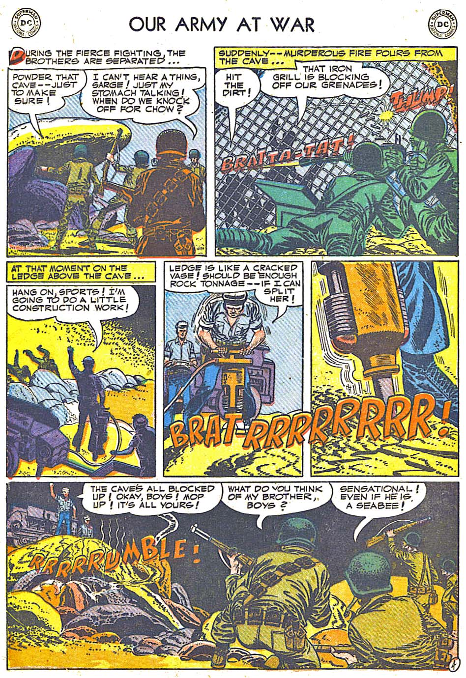 Our Army at War (1952) #1 #301 - English 32