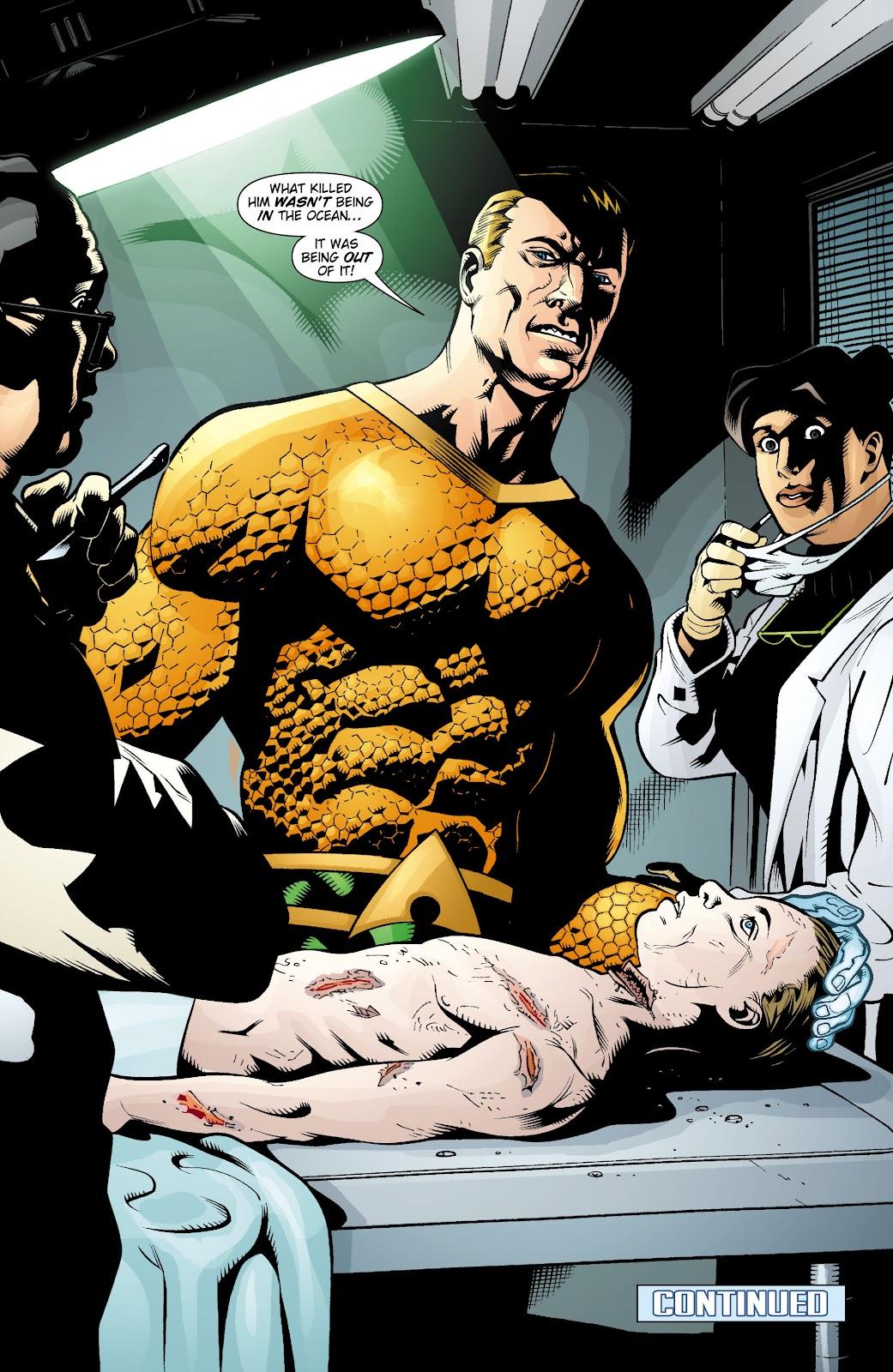 Aquaman (2003) Issue #15 #15 - English 22
