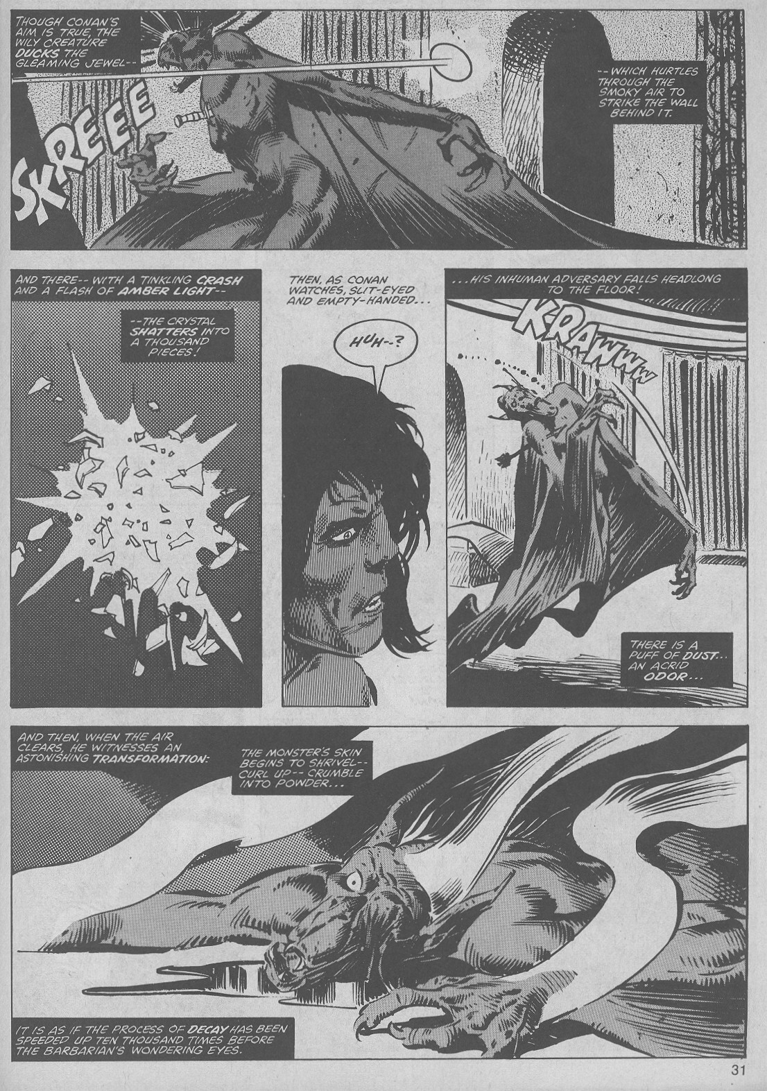 The Savage Sword Of Conan Issue #45 #46 - English 31