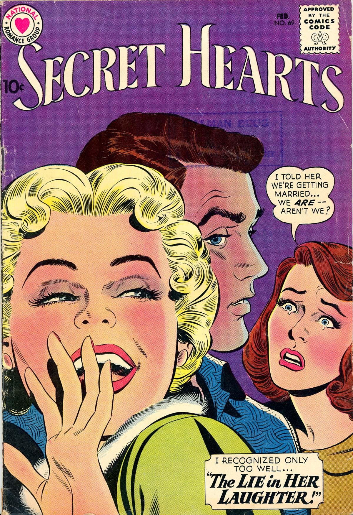 Read online Secret Hearts comic -  Issue #69 - 1