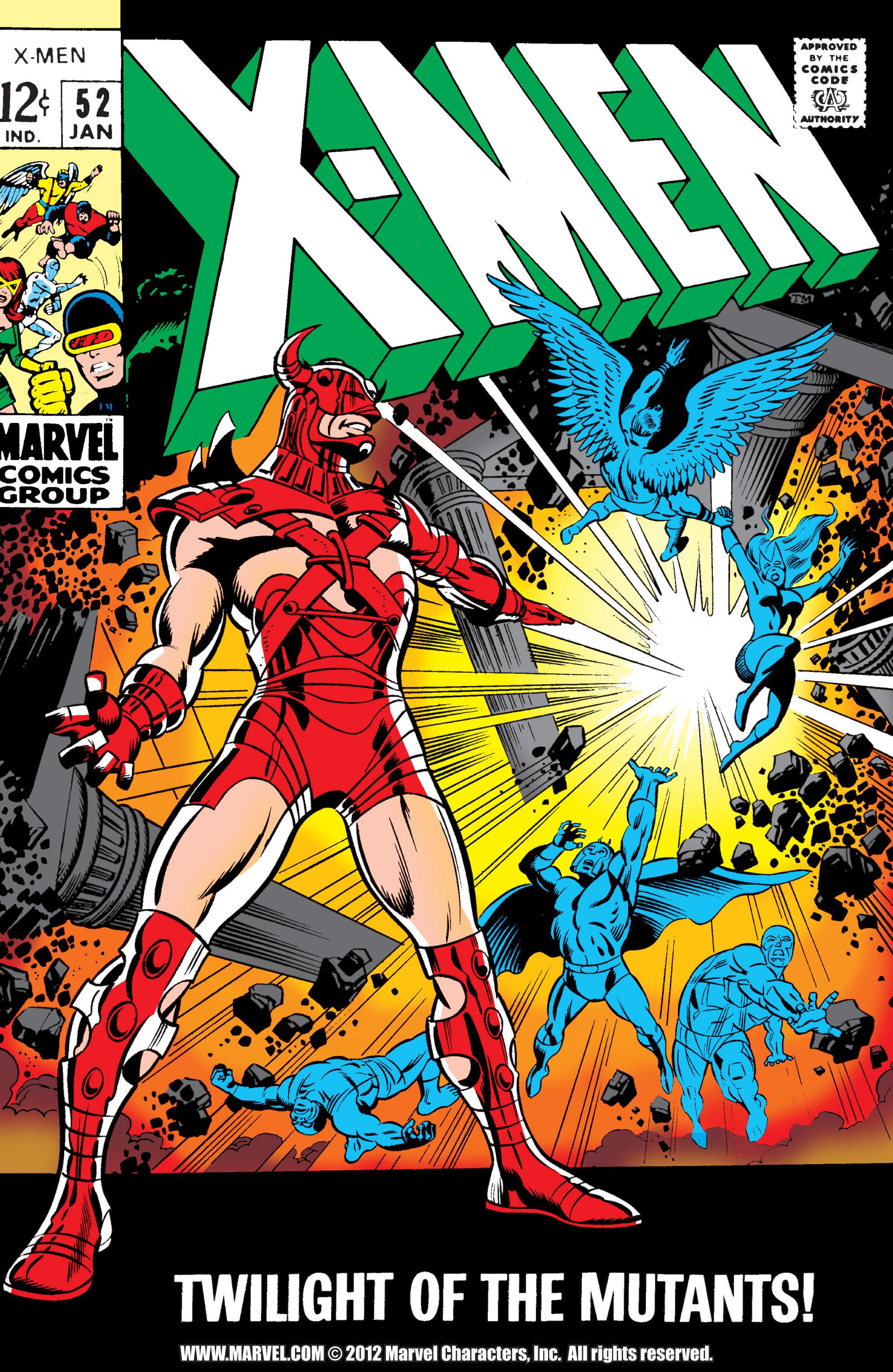 Uncanny X-Men (1963) 52 Page 1