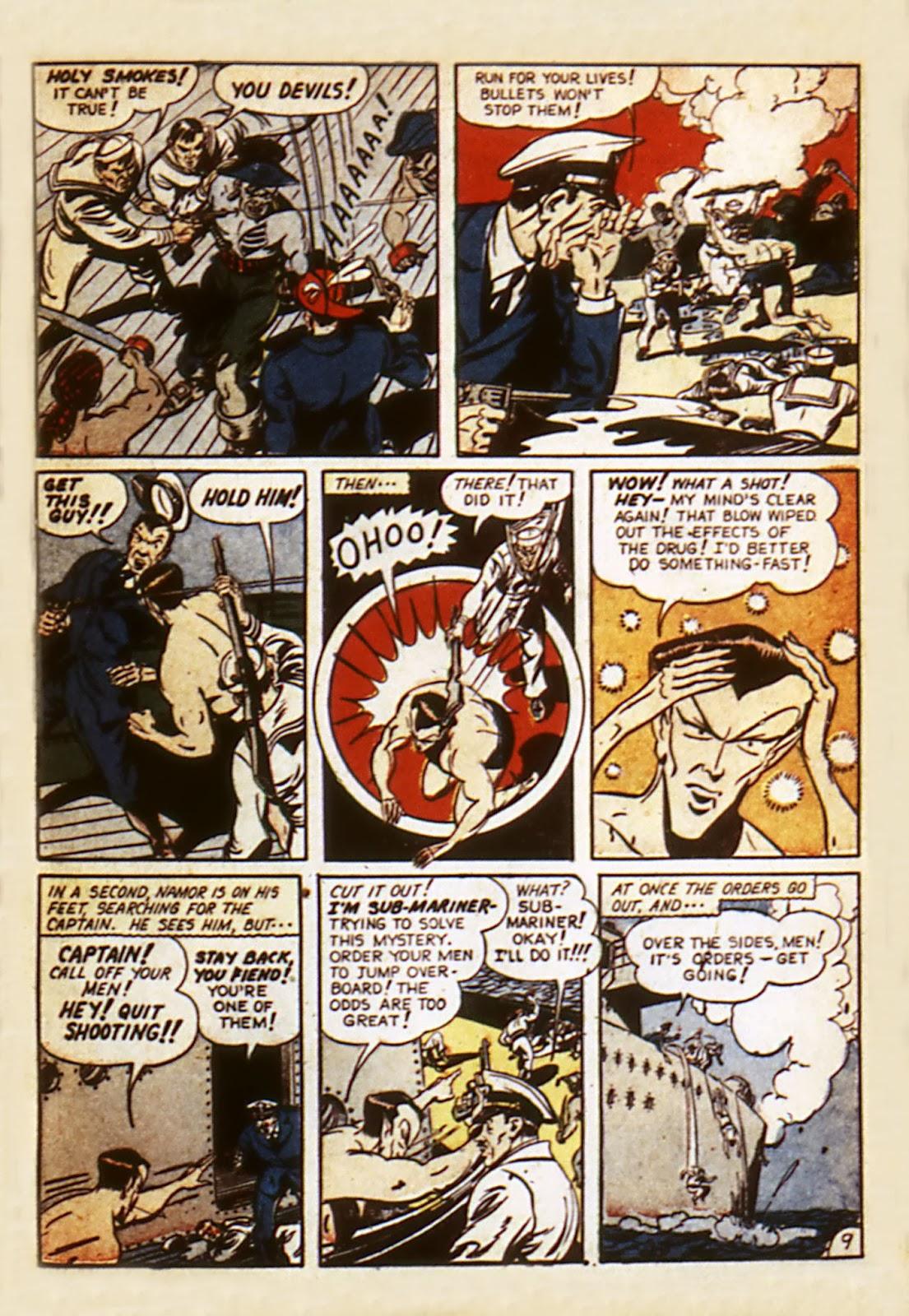 Sub-Mariner Comics Issue #7 #7 - English 11
