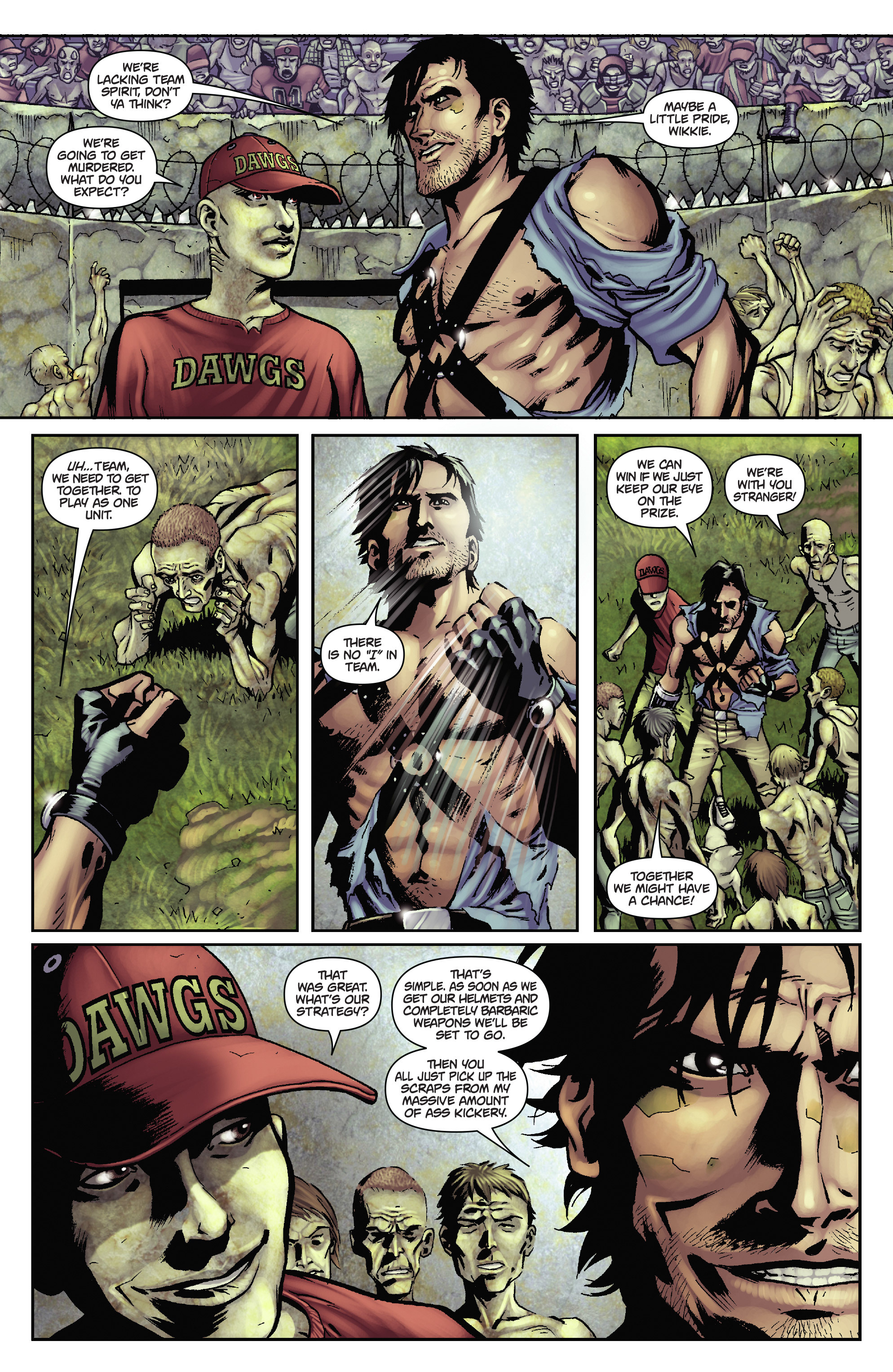 Army of Darkness: The Long Road Home TPB Page 51