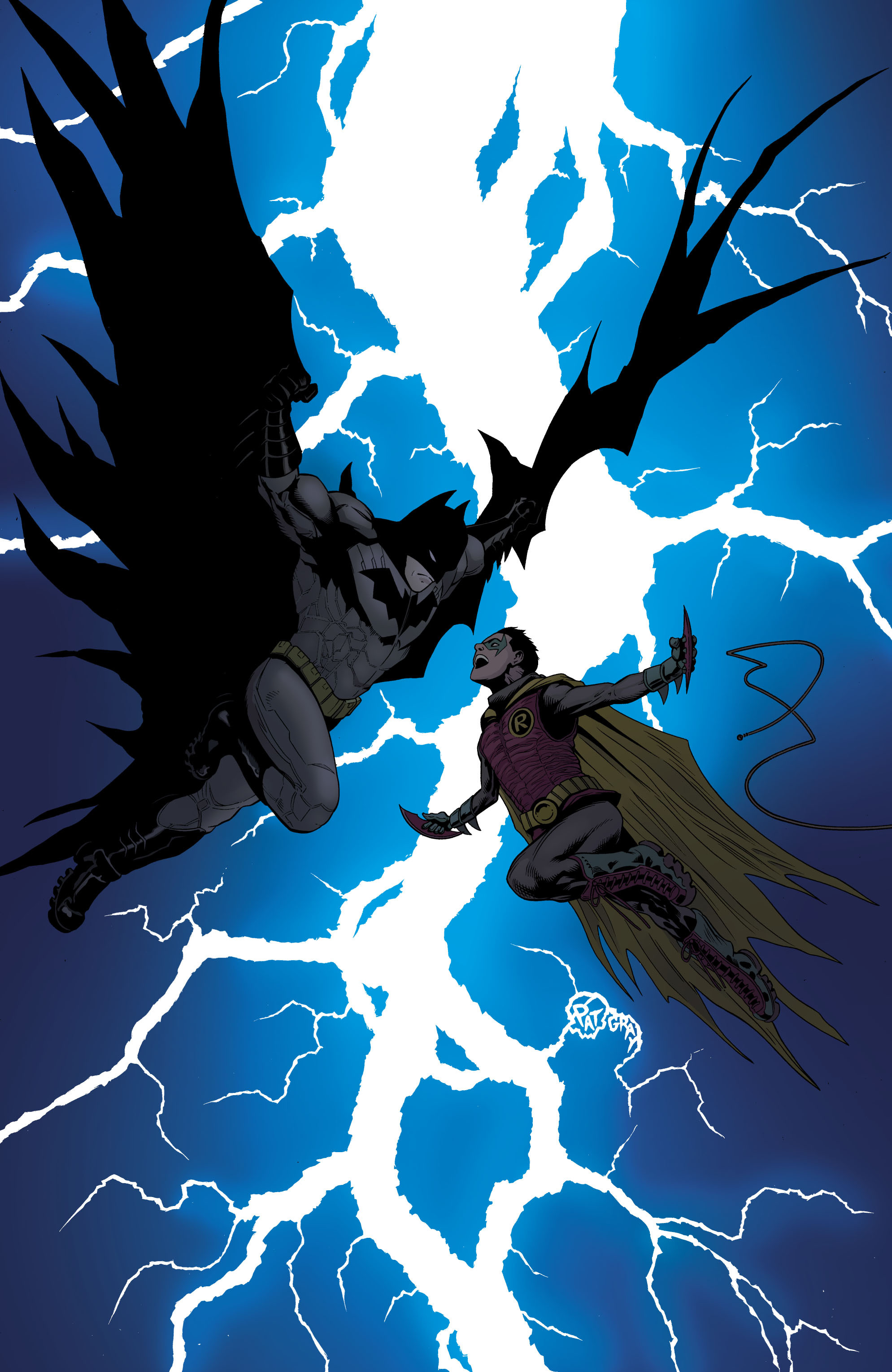 Batman and Robin (2011) chap 1 pic 110