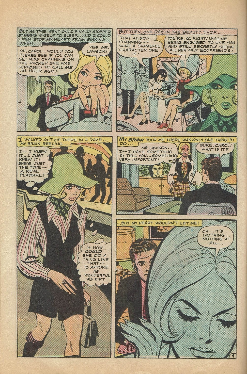 Read online Secret Hearts comic -  Issue #144 - 26
