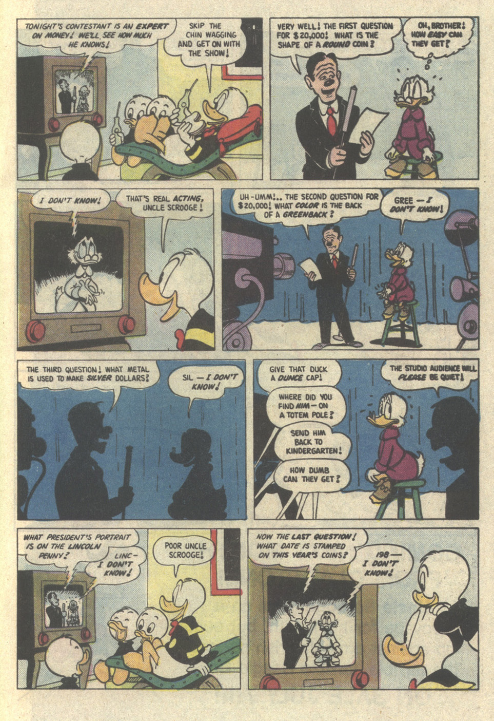 Uncle Scrooge (1953) Issue #221 #221 - English 33
