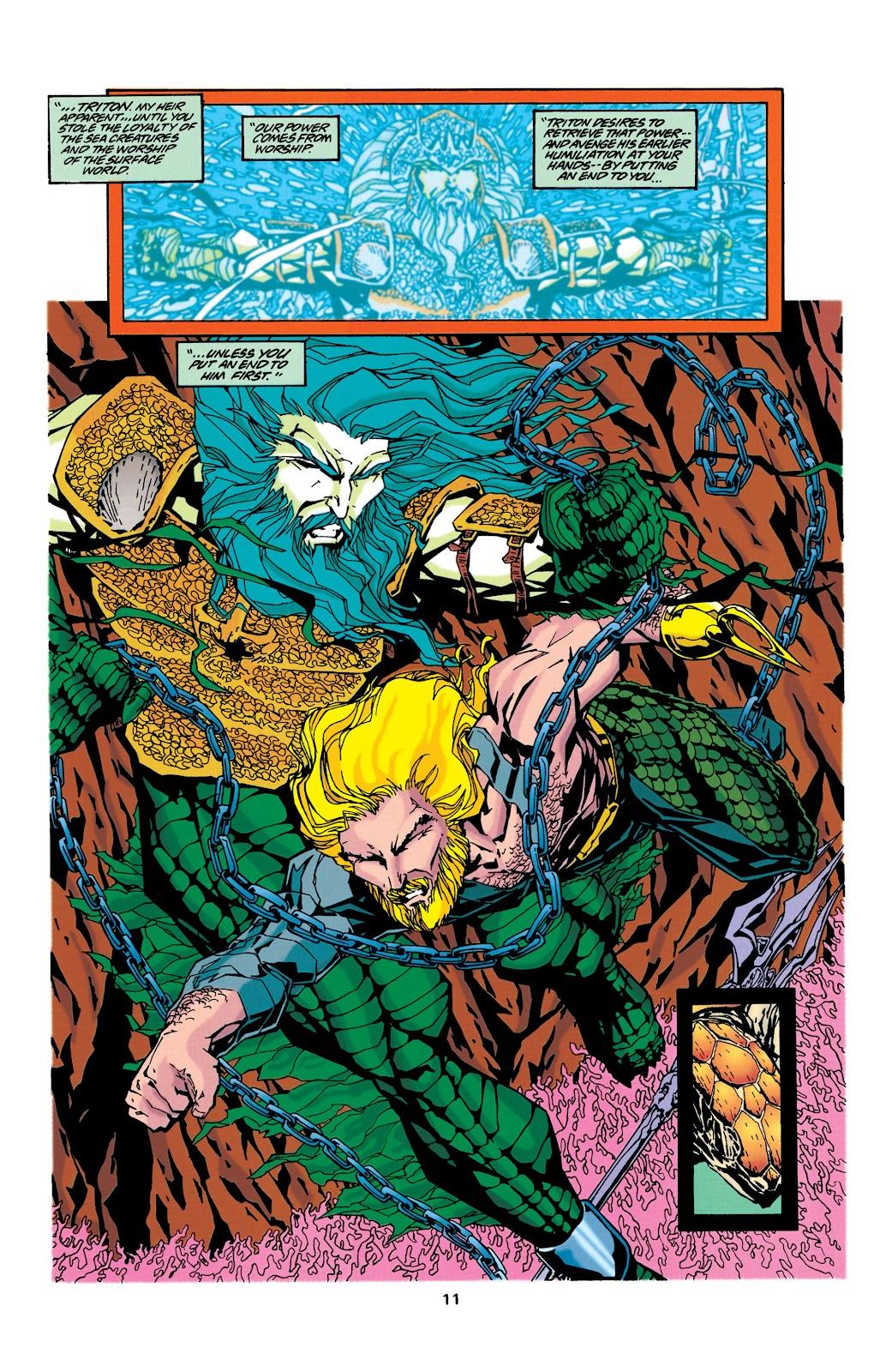 Aquaman (1994) Issue #34 #40 - English 10
