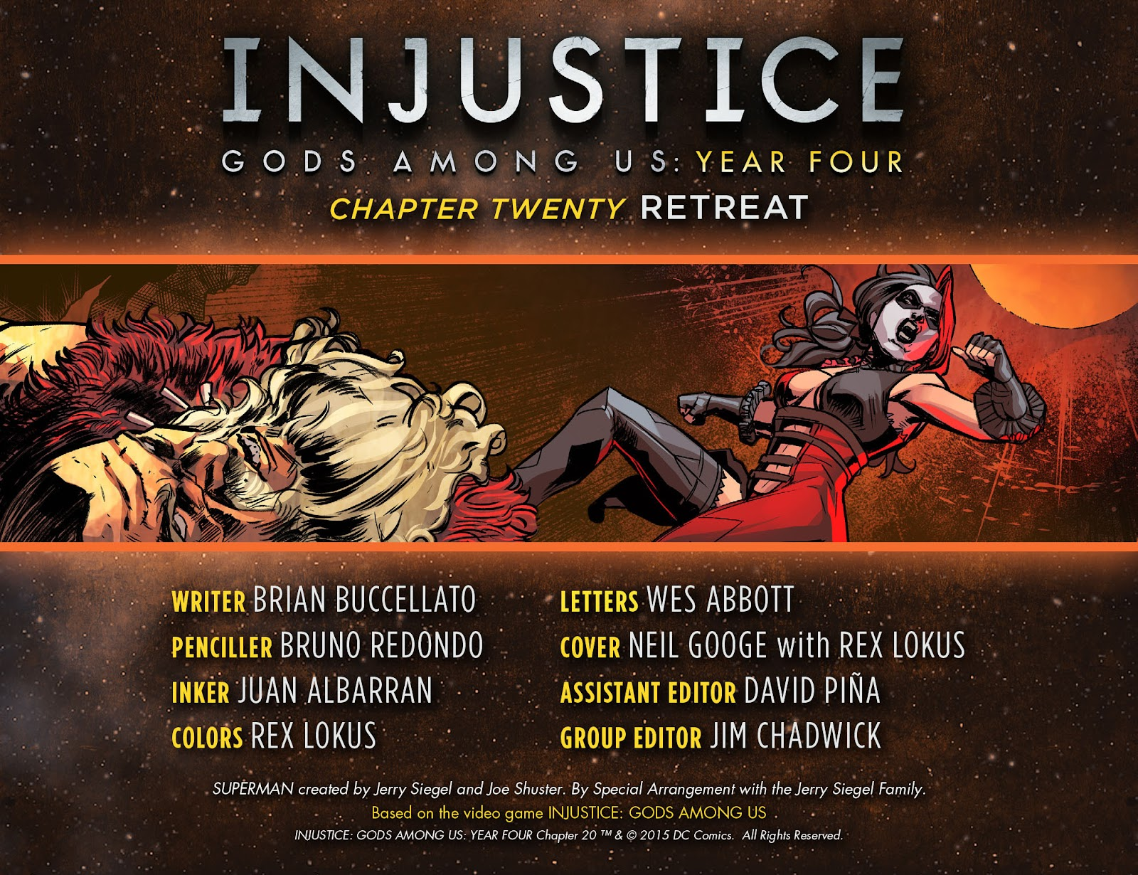 Injustice: Gods Among Us Year Four Issue #20 #21 - English 3