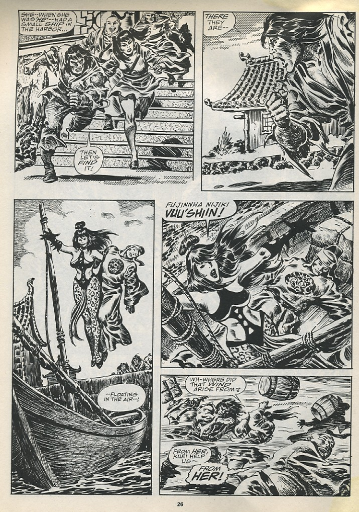 The Savage Sword Of Conan Issue #194 #195 - English 28