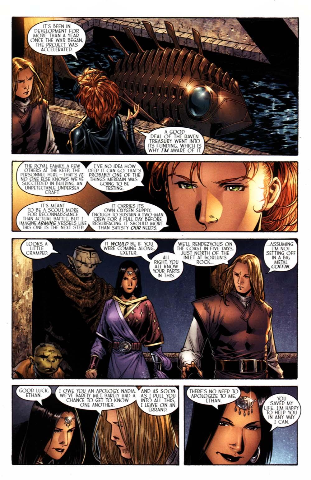 Read online Scion comic -  Issue #20 - 11