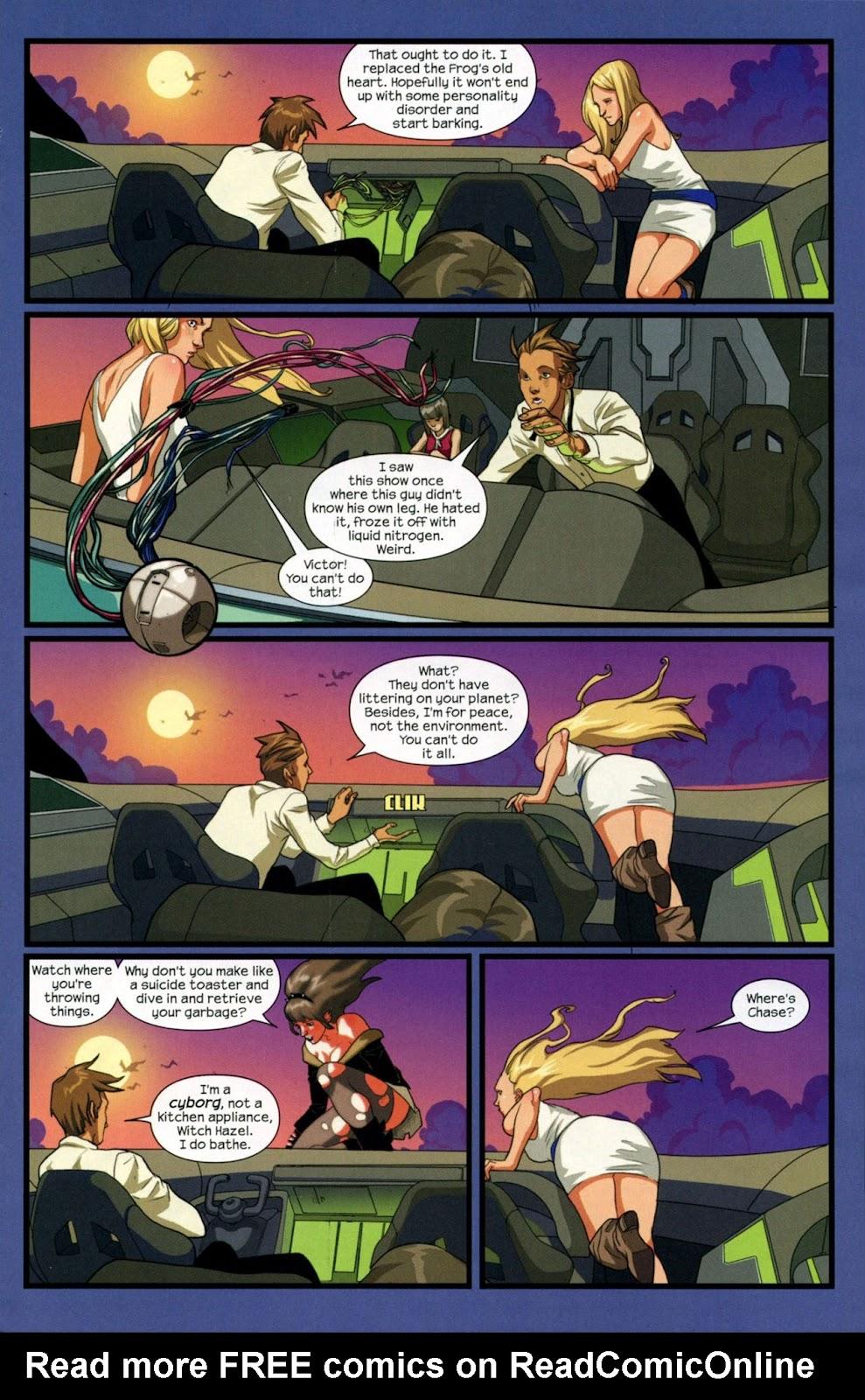 Runaways (2008) Issue #14 #14 - English 9