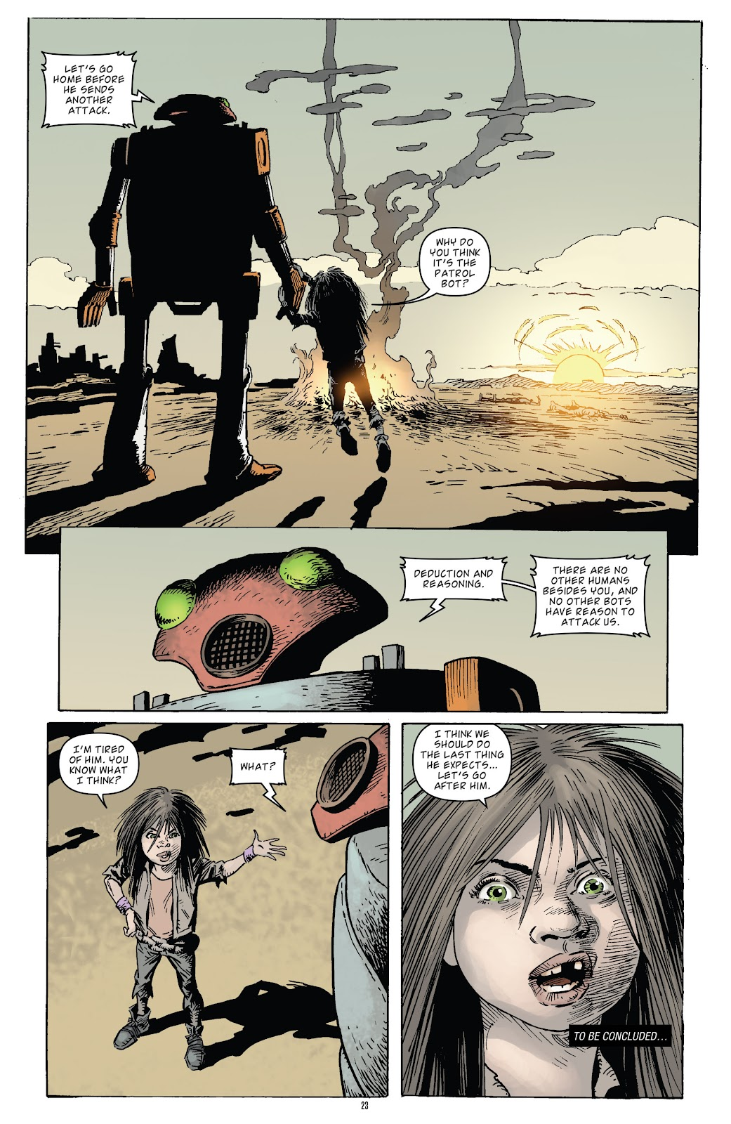 Zombies vs Robots (2015) Issue #5 Page 24