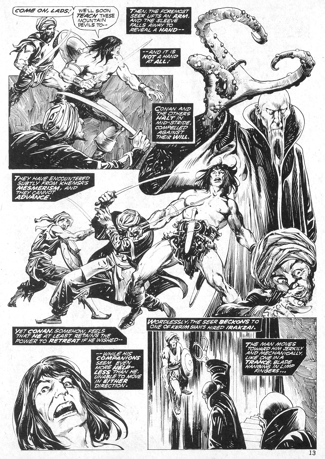 The Savage Sword Of Conan Issue #19 #20 - English 13