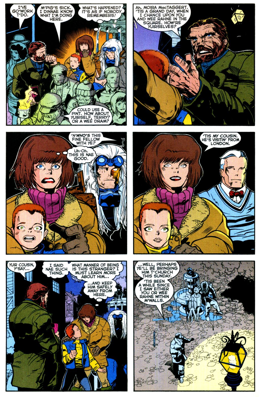 Cable (1993) #-1 #109 - English 10