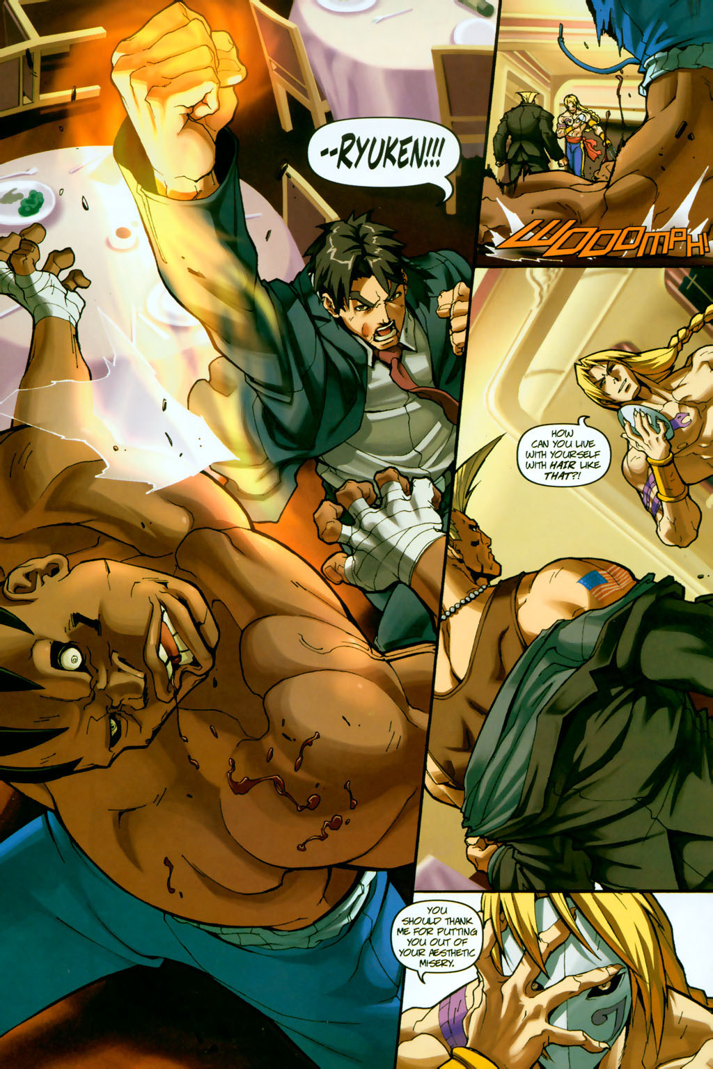 Street Fighter (2003) Issue #14 #15 - English 10