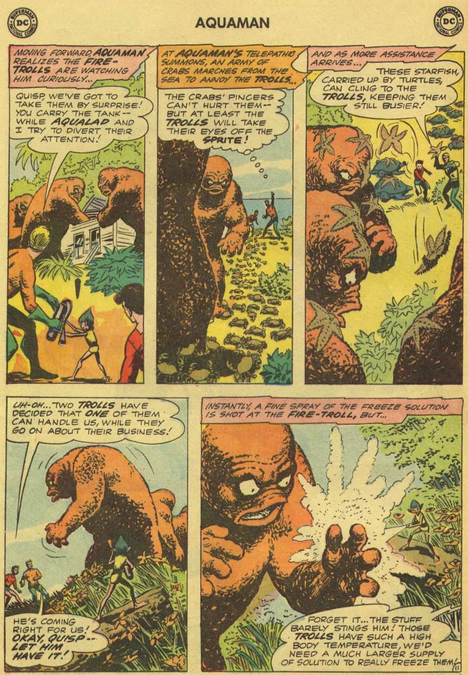 Read online Aquaman (1962) comic -  Issue #1 - 16