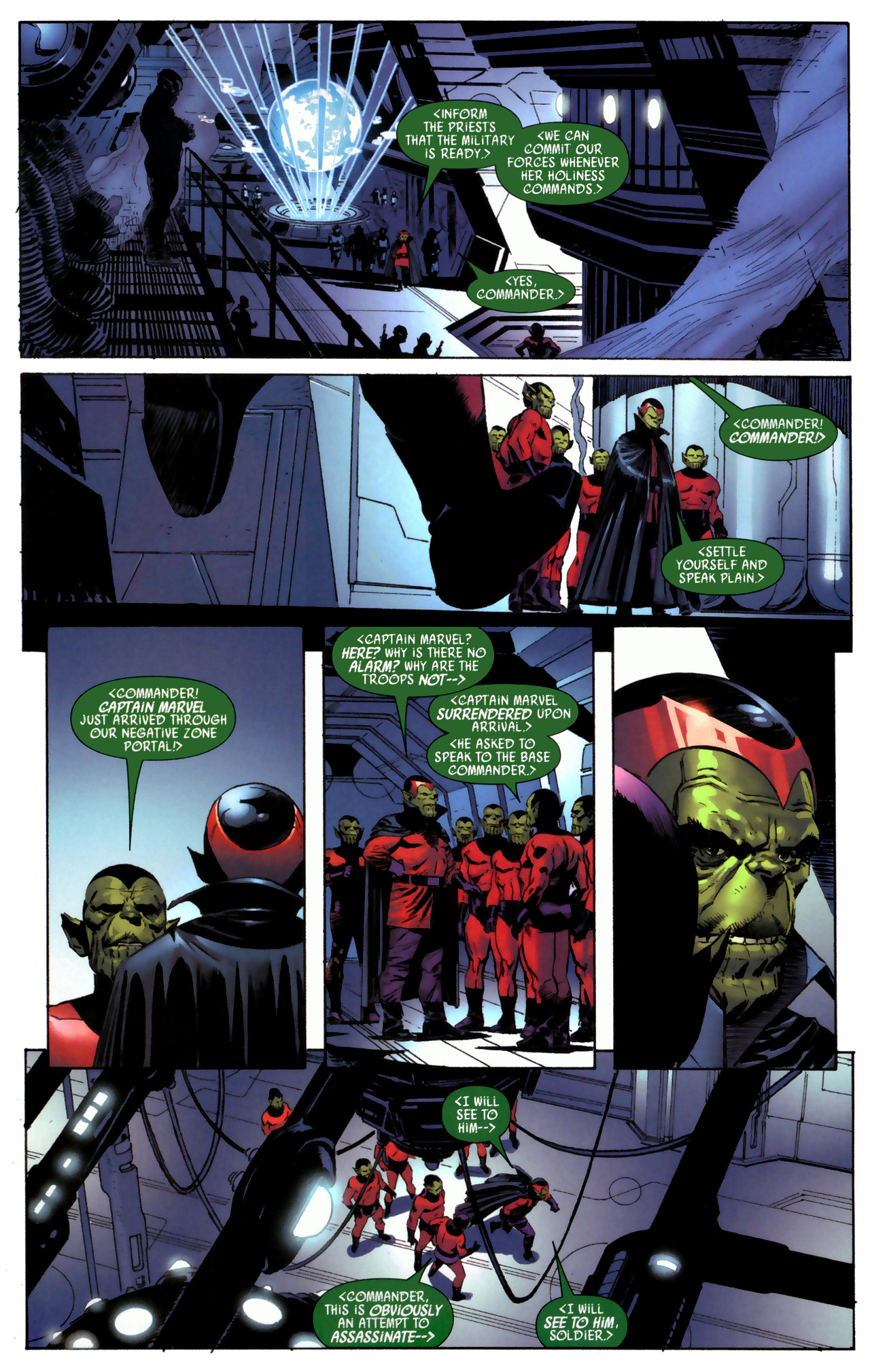Read online Secret Invasion: Who Do You Trust? comic -  Issue # Full - 8