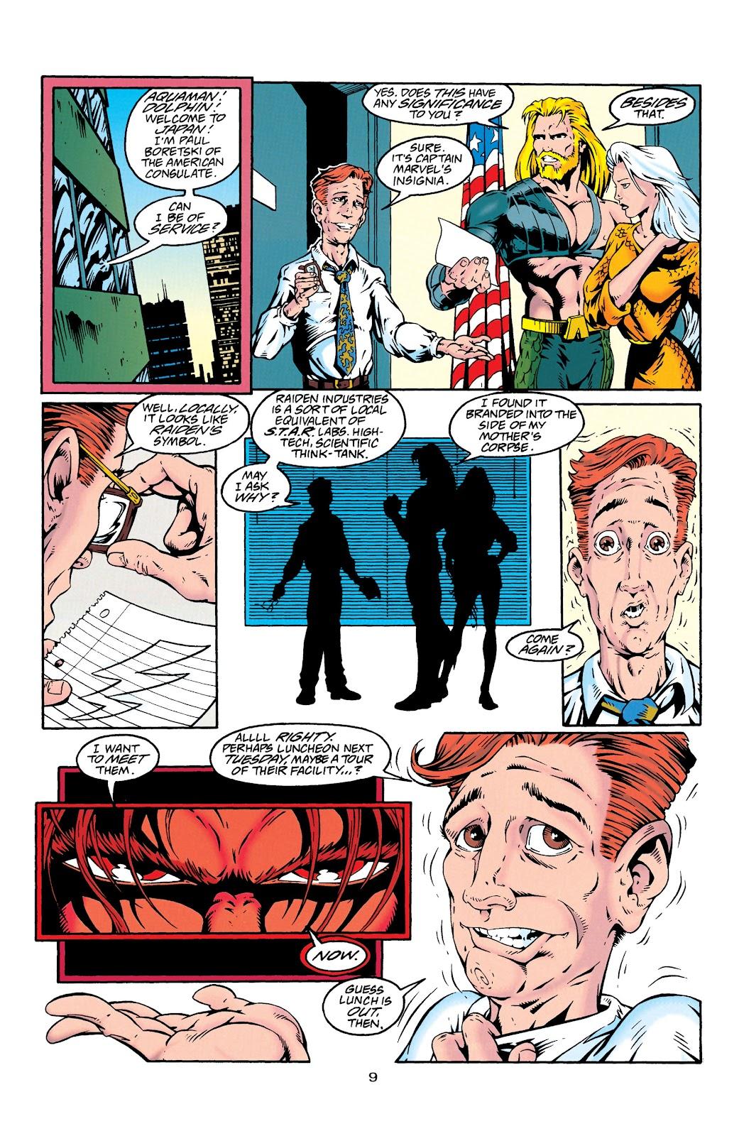Aquaman (1994) Issue #27 #33 - English 10