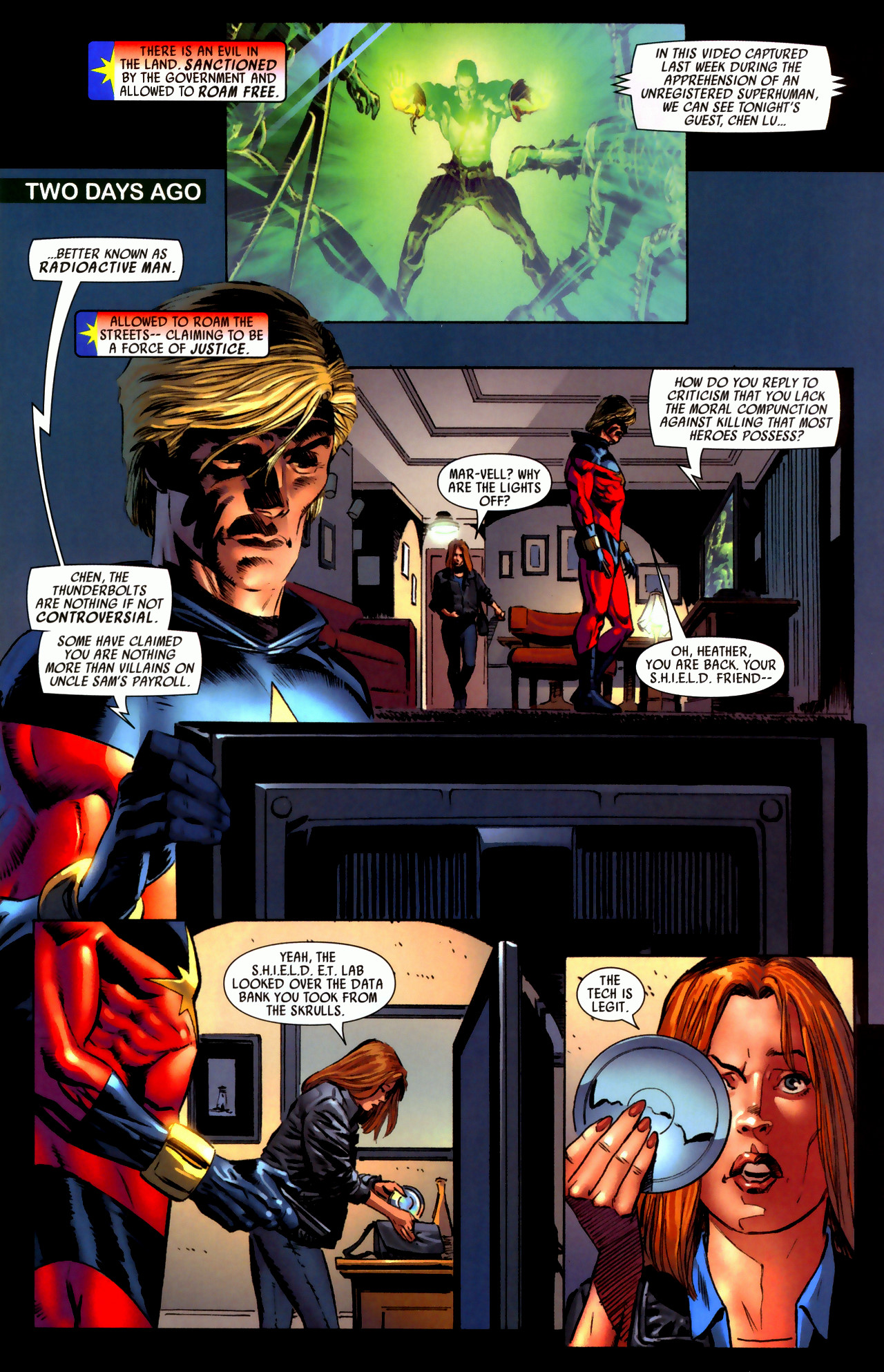 Read online Secret Invasion: Who Do You Trust? comic -  Issue # Full - 6