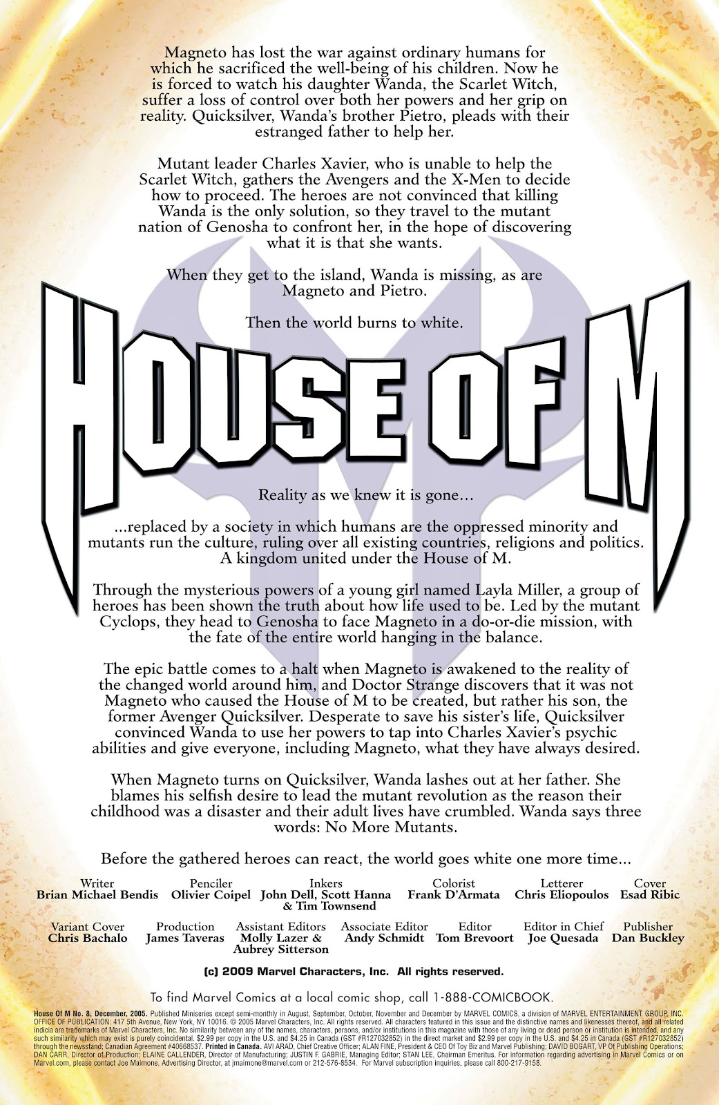 House of M (2005) Issue #8 #8 - English 2