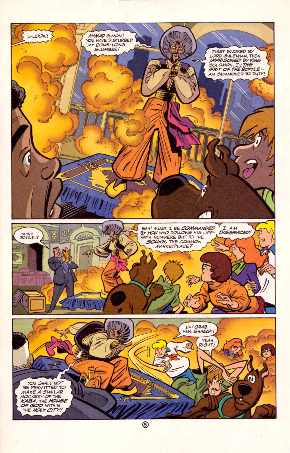 Read online Scooby-Doo (1997) comic -  Issue #11 - 6