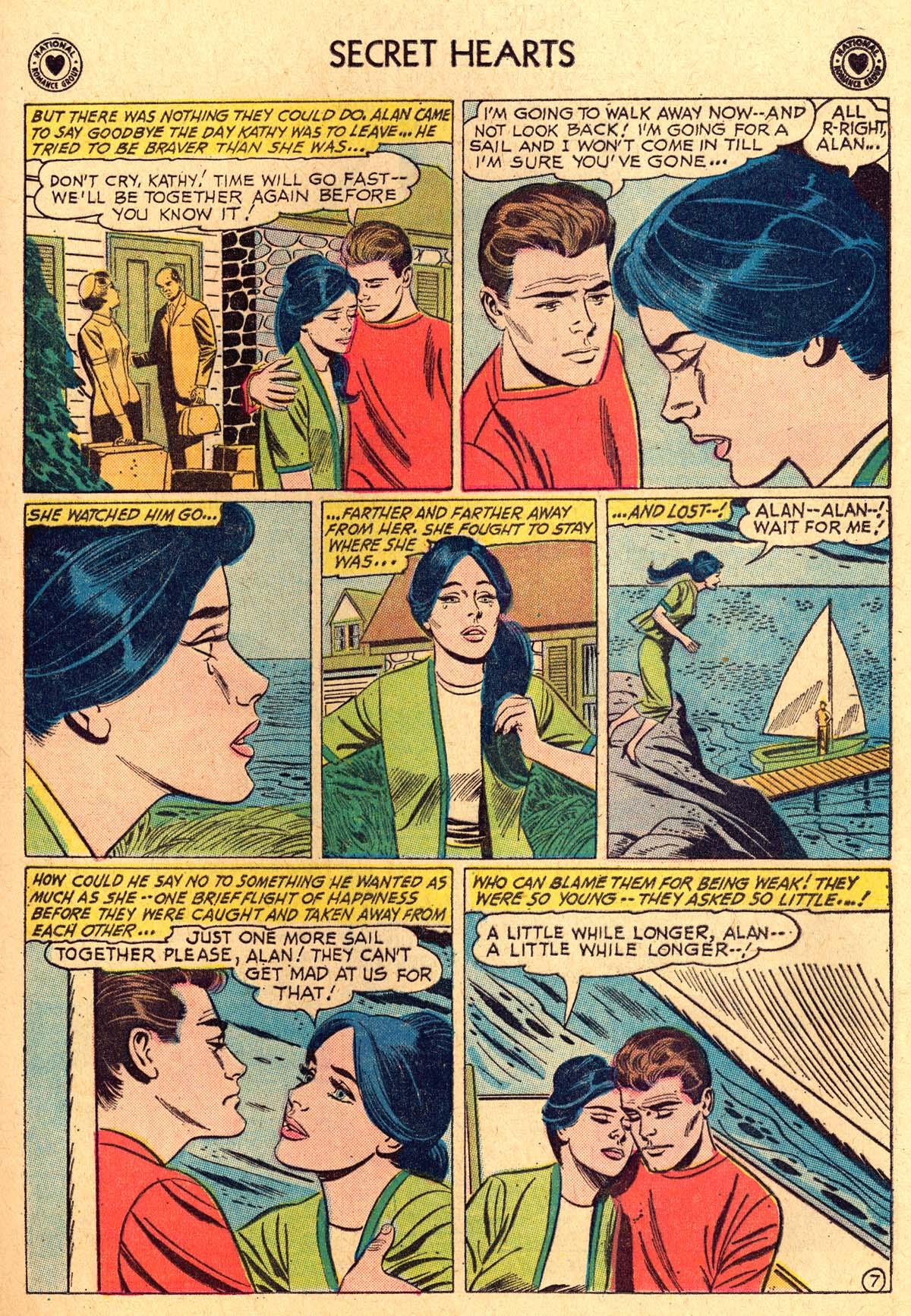 Read online Secret Hearts comic -  Issue #69 - 9