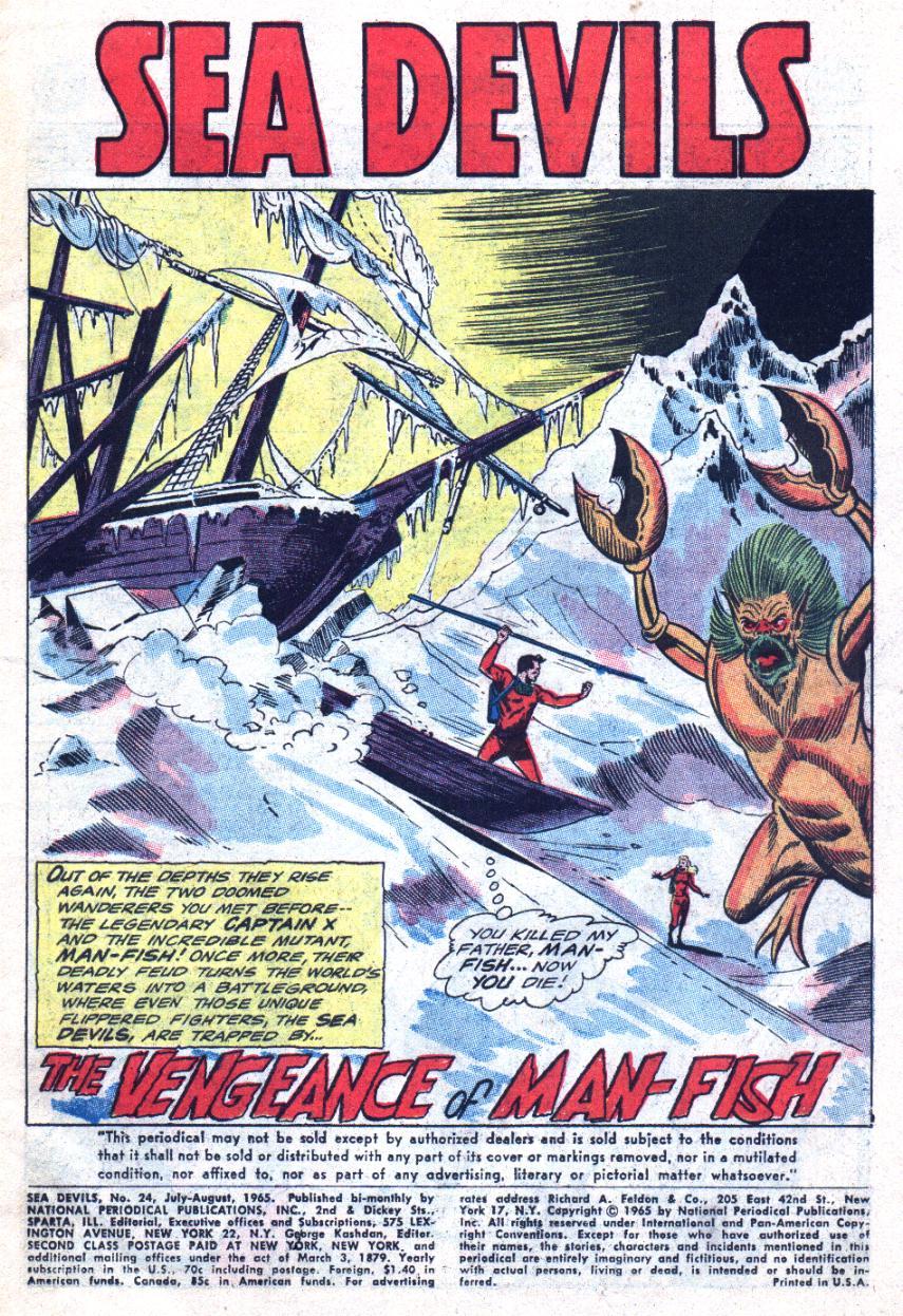 Read online Sea Devils comic -  Issue #24 - 4
