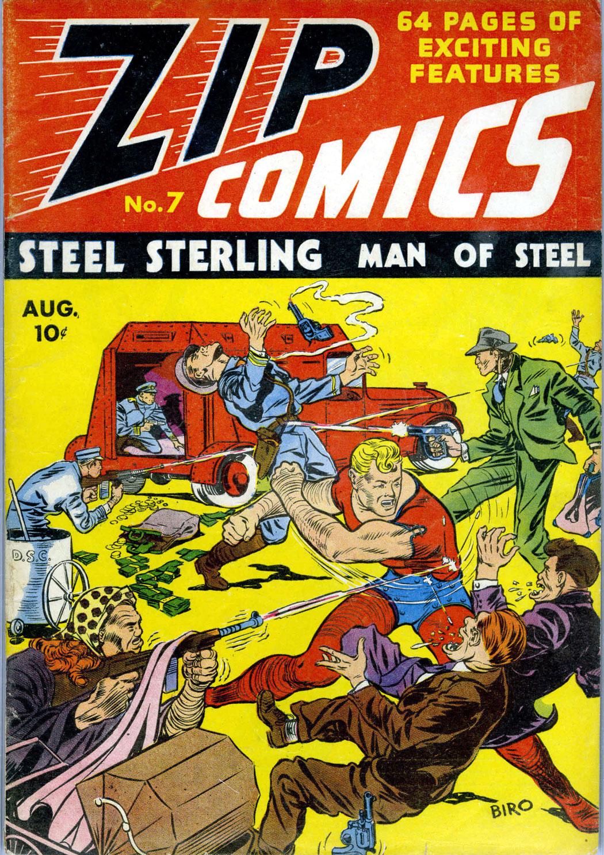 Zip Comics 7 Page 1