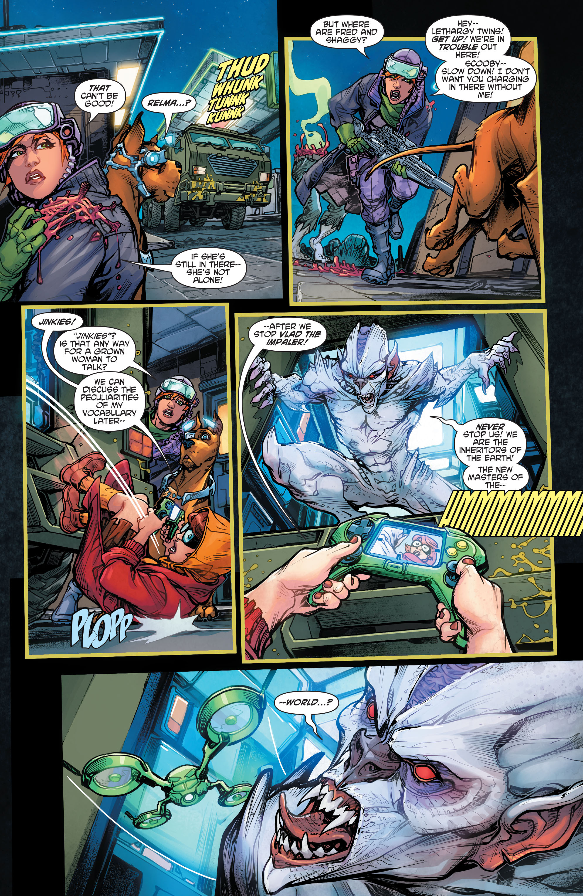 Read online Scooby Apocalypse comic -  Issue #4 - 11