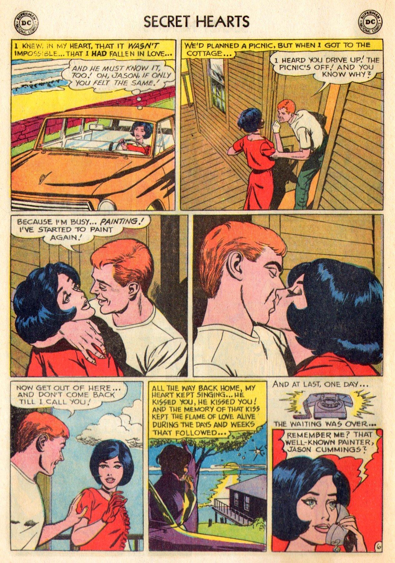 Read online Secret Hearts comic -  Issue #84 - 16