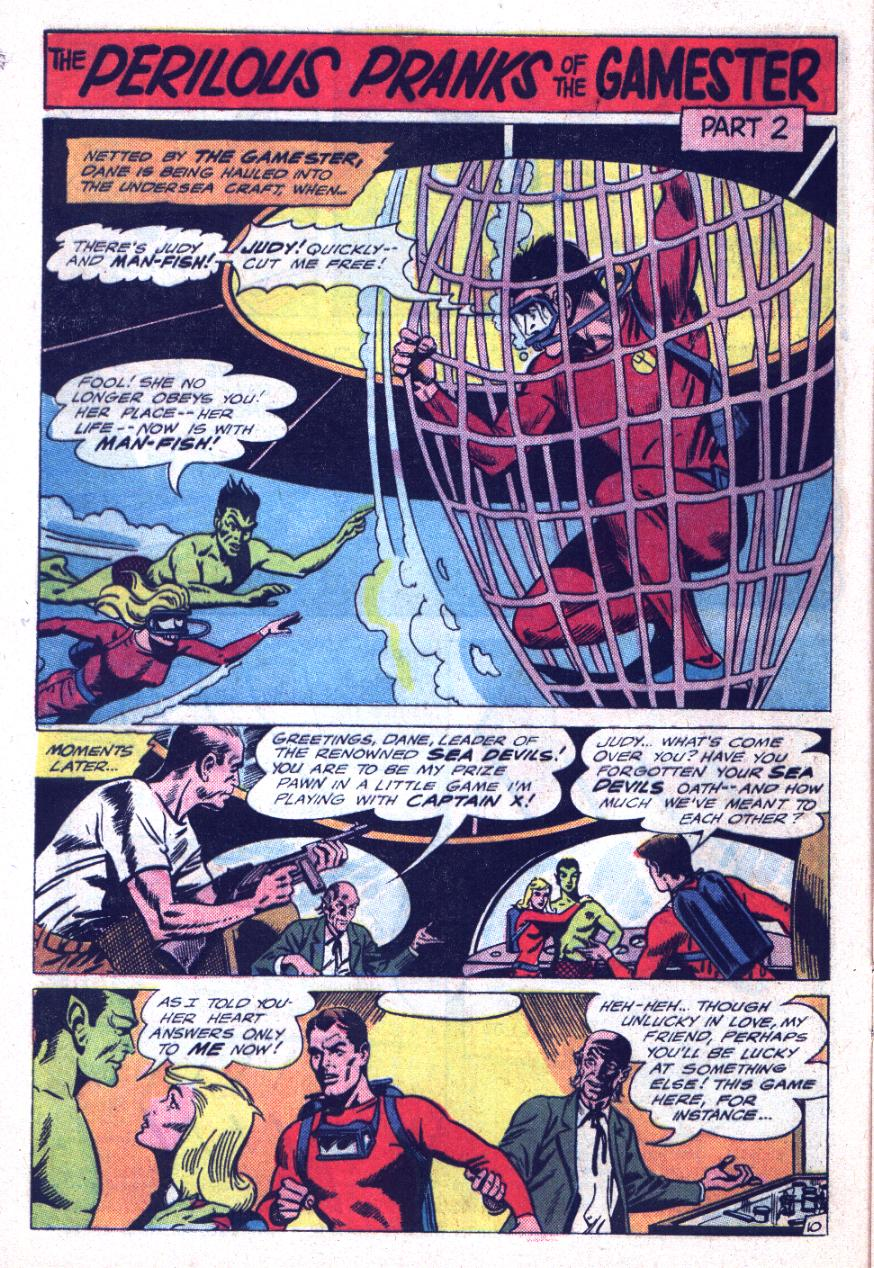 Read online Sea Devils comic -  Issue #26 - 17