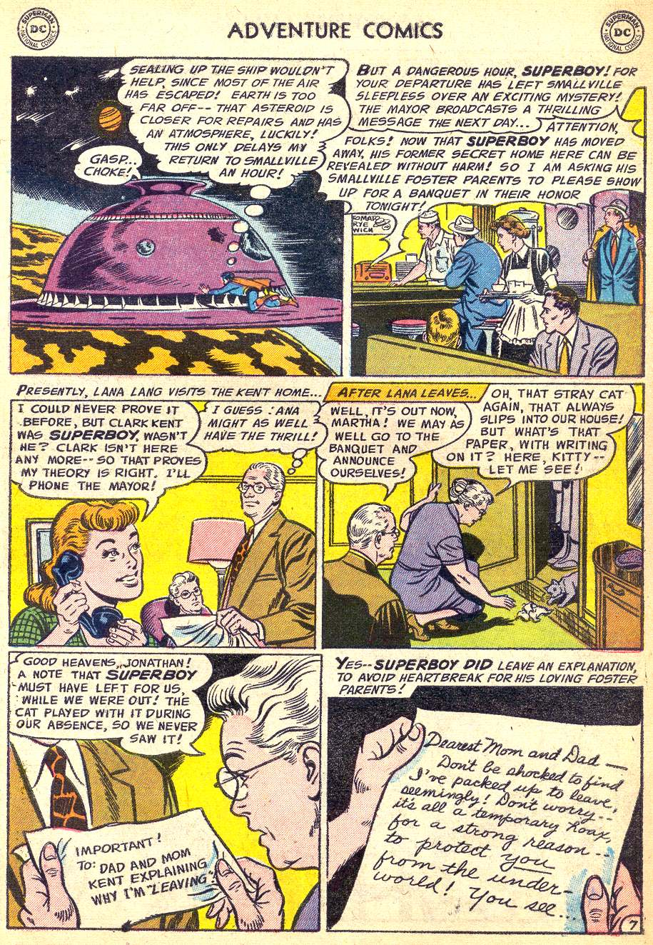 Read online Adventure Comics (1938) comic -  Issue #218 - 9