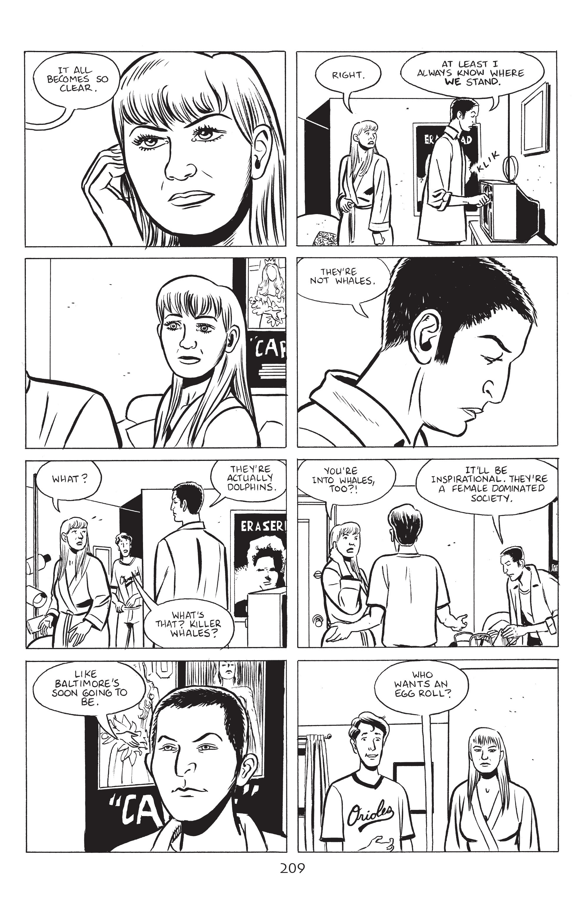 Read online Stray Bullets: Sunshine & Roses comic -  Issue #8 - 15