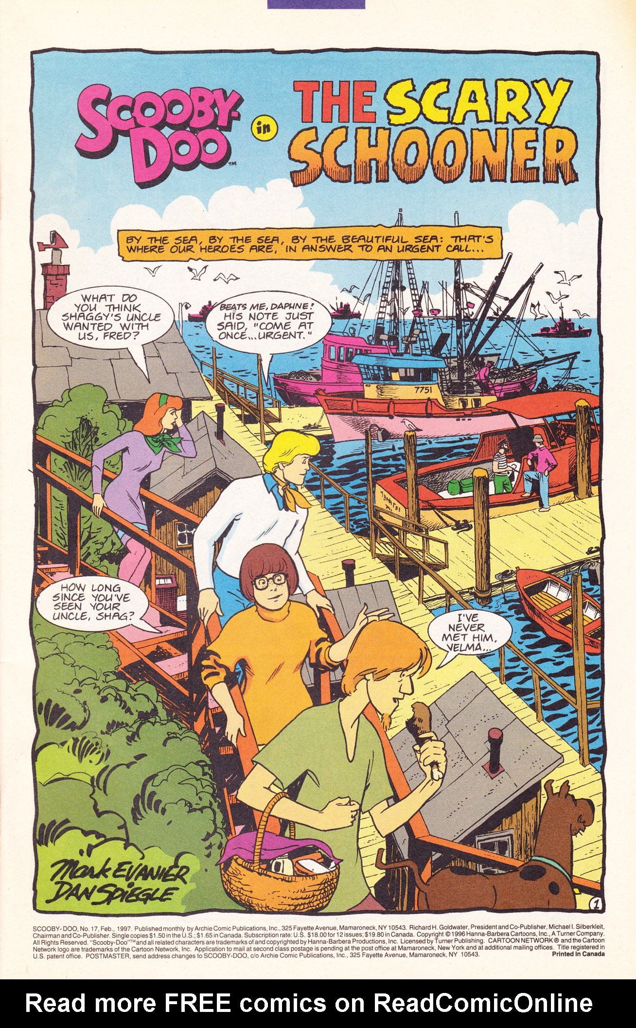 Read online Scooby-Doo (1995) comic -  Issue #17 - 3