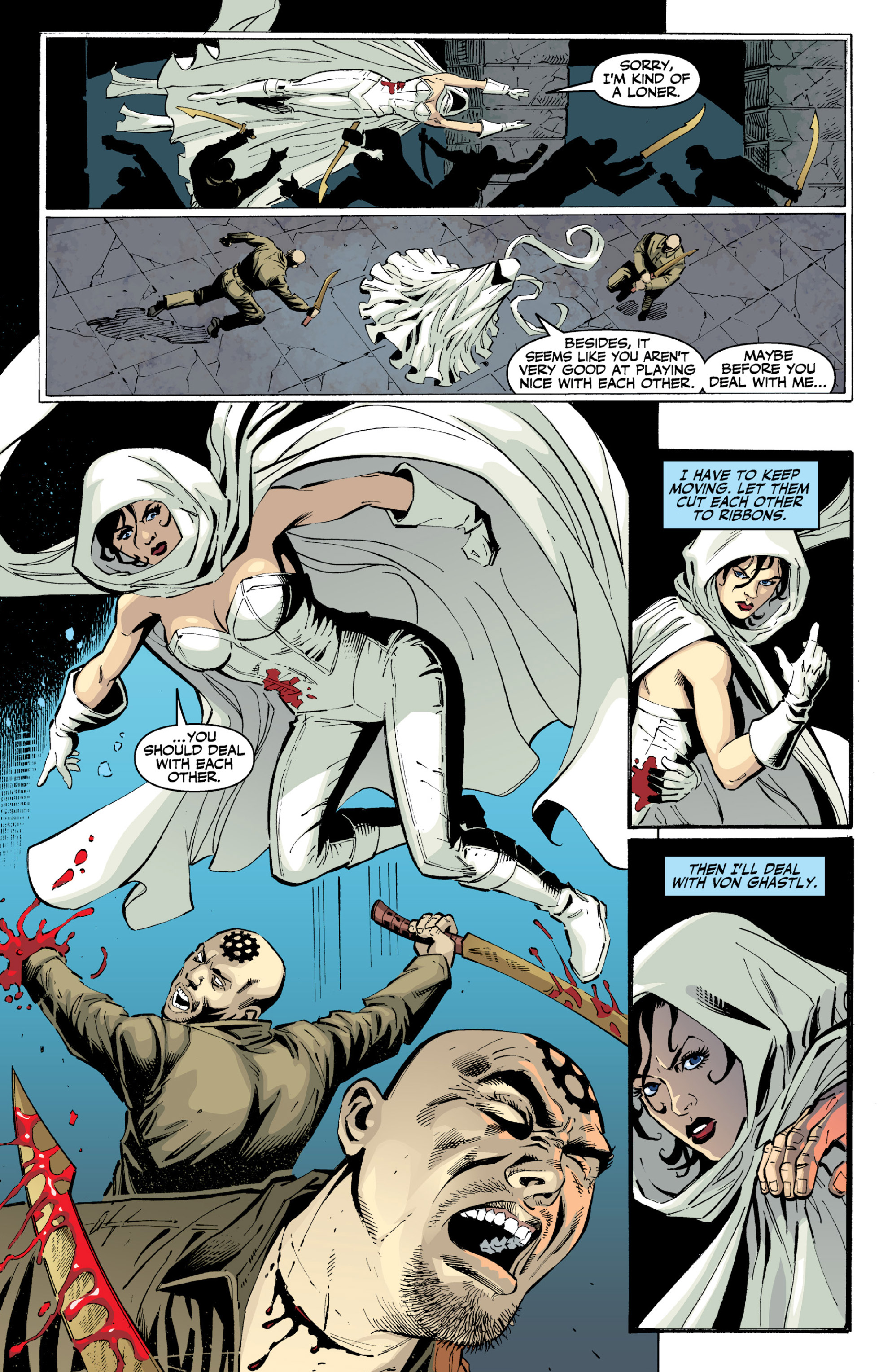 Read online Ghost (2013) comic -  Issue # TPB 2 - 28