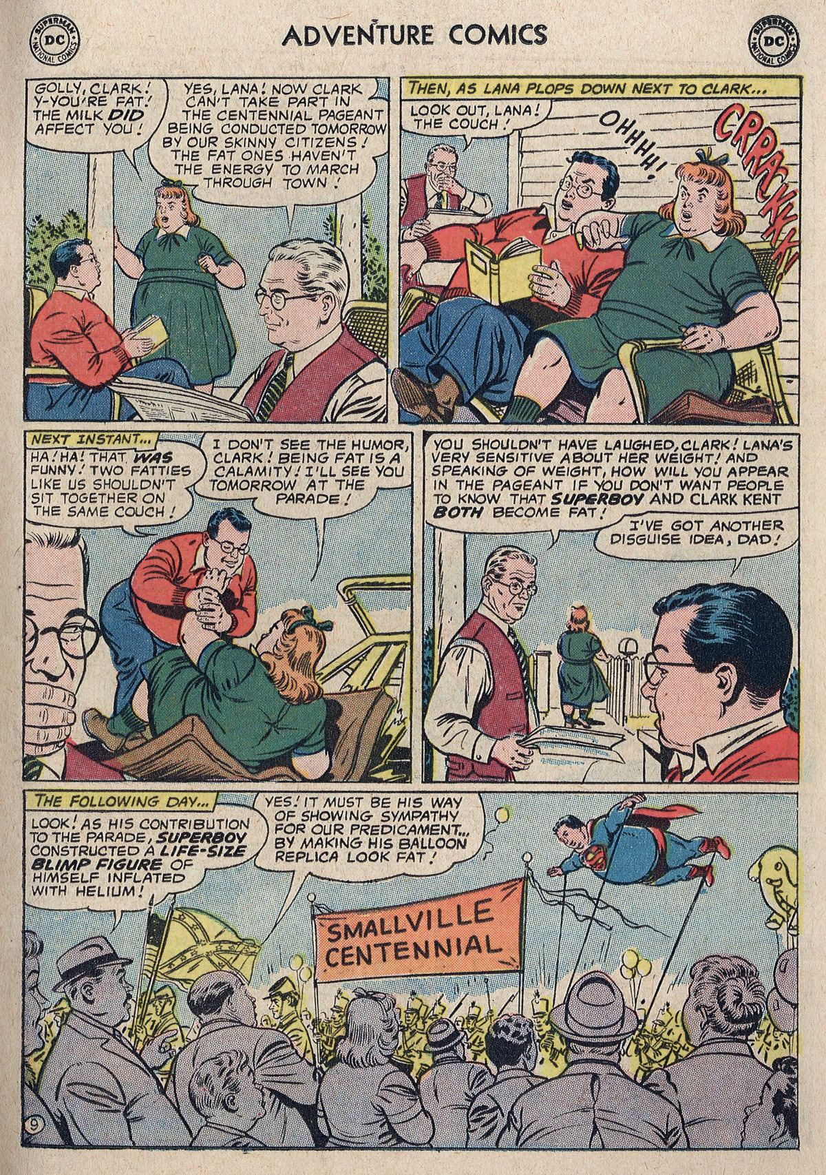 Read online Adventure Comics (1938) comic -  Issue #298 - 11
