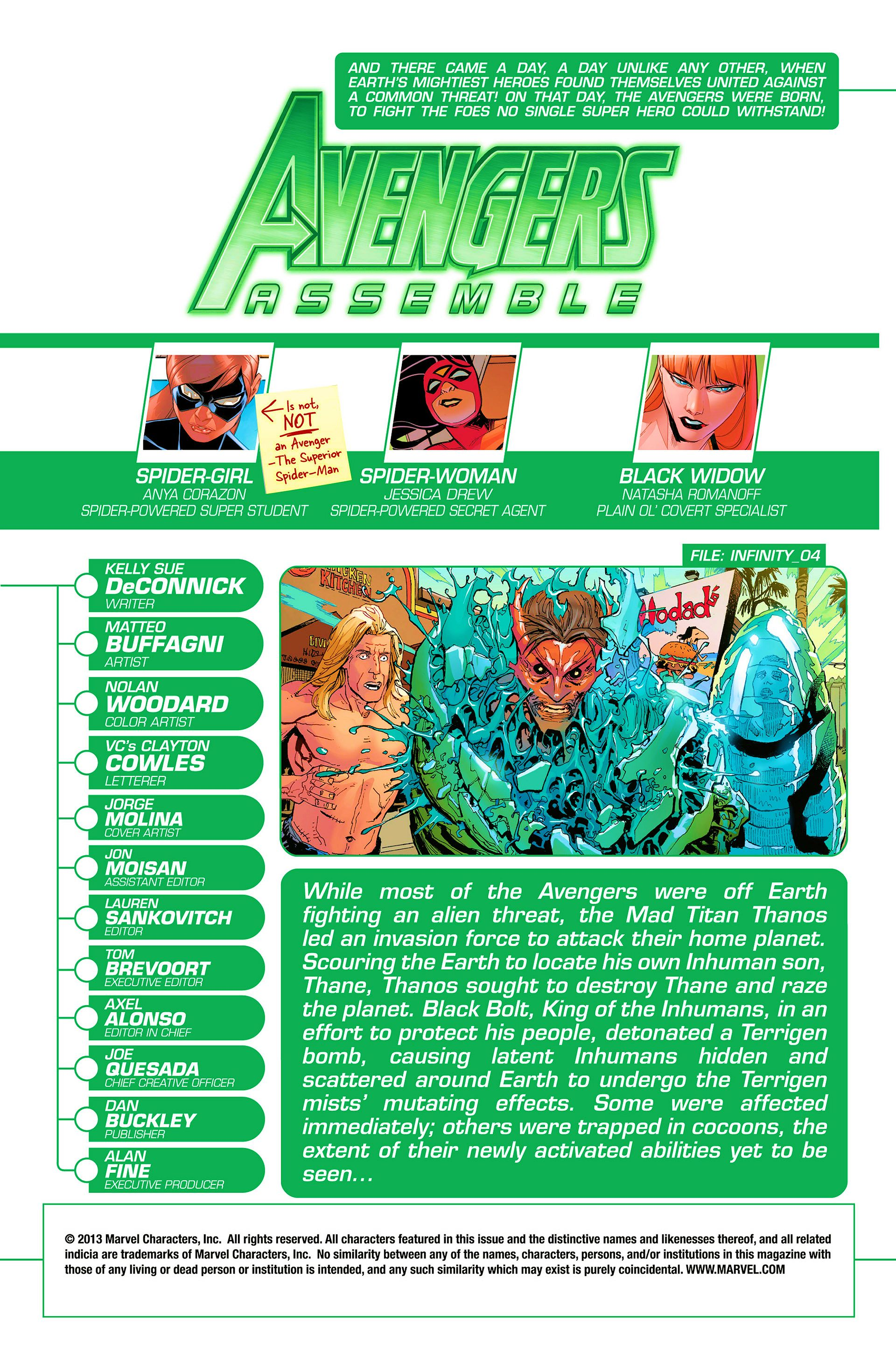 Read online Avengers Assemble (2012) comic -  Issue #21 - 2