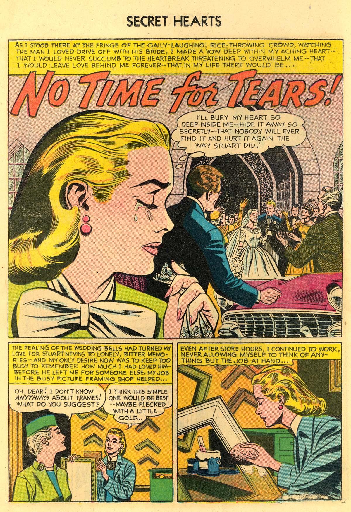 Read online Secret Hearts comic -  Issue #35 - 18