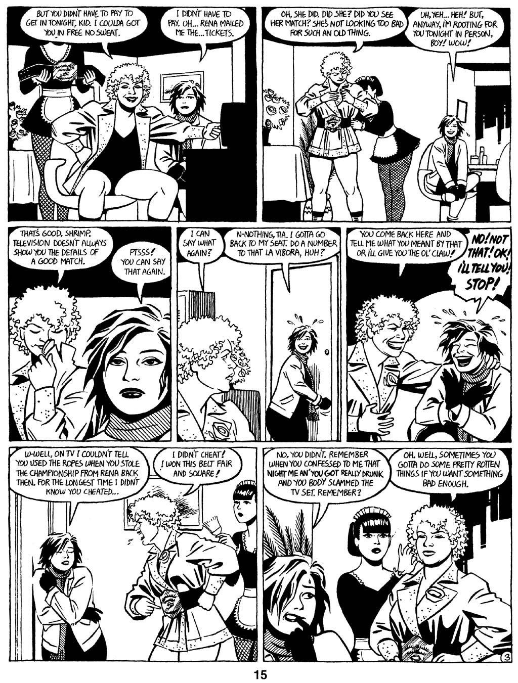 Love and Rockets (1982) Issue #16 #15 - English 17