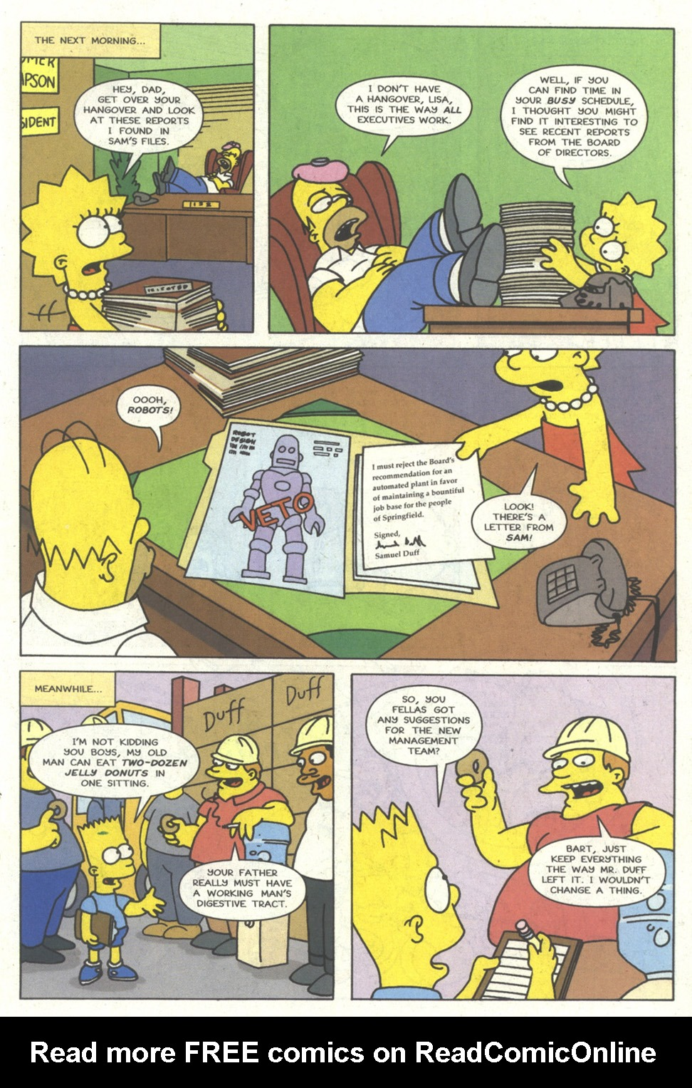 Read online Simpsons Comics comic -  Issue #14 - 16