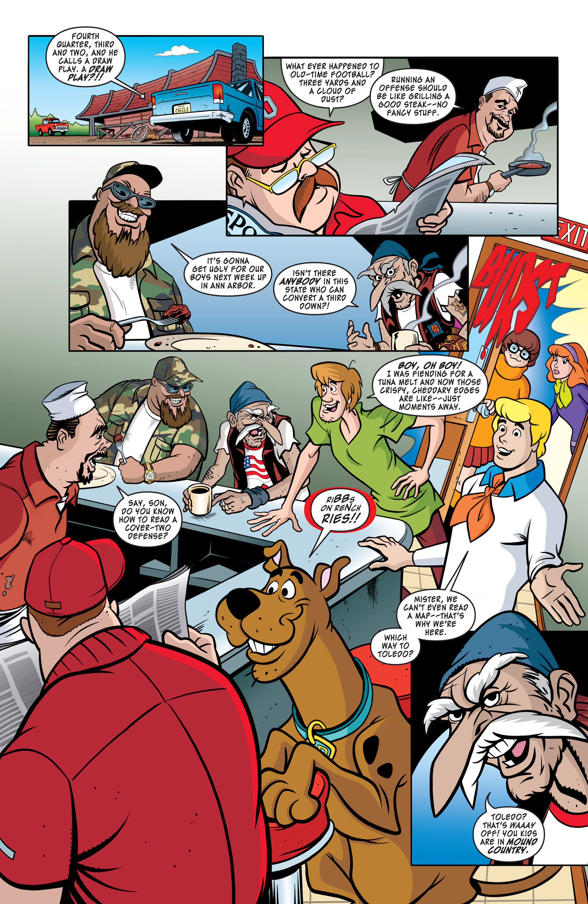 Read online Scooby-Doo: Where Are You? comic -  Issue #41 - 3