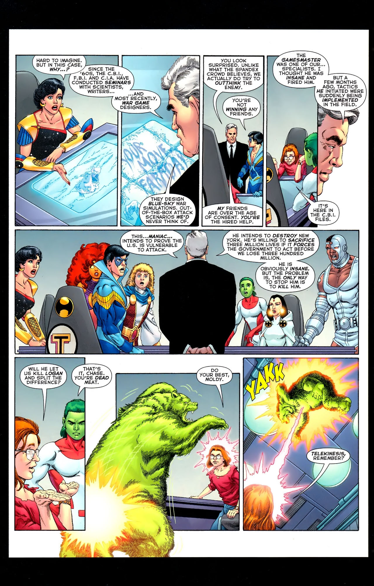 Teen Titans (2003) #100 #110 - English 44