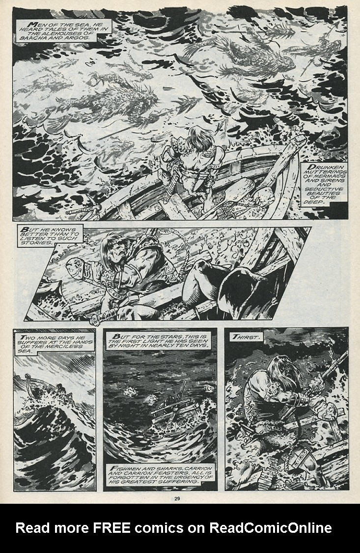 The Savage Sword Of Conan Issue #176 #177 - English 31