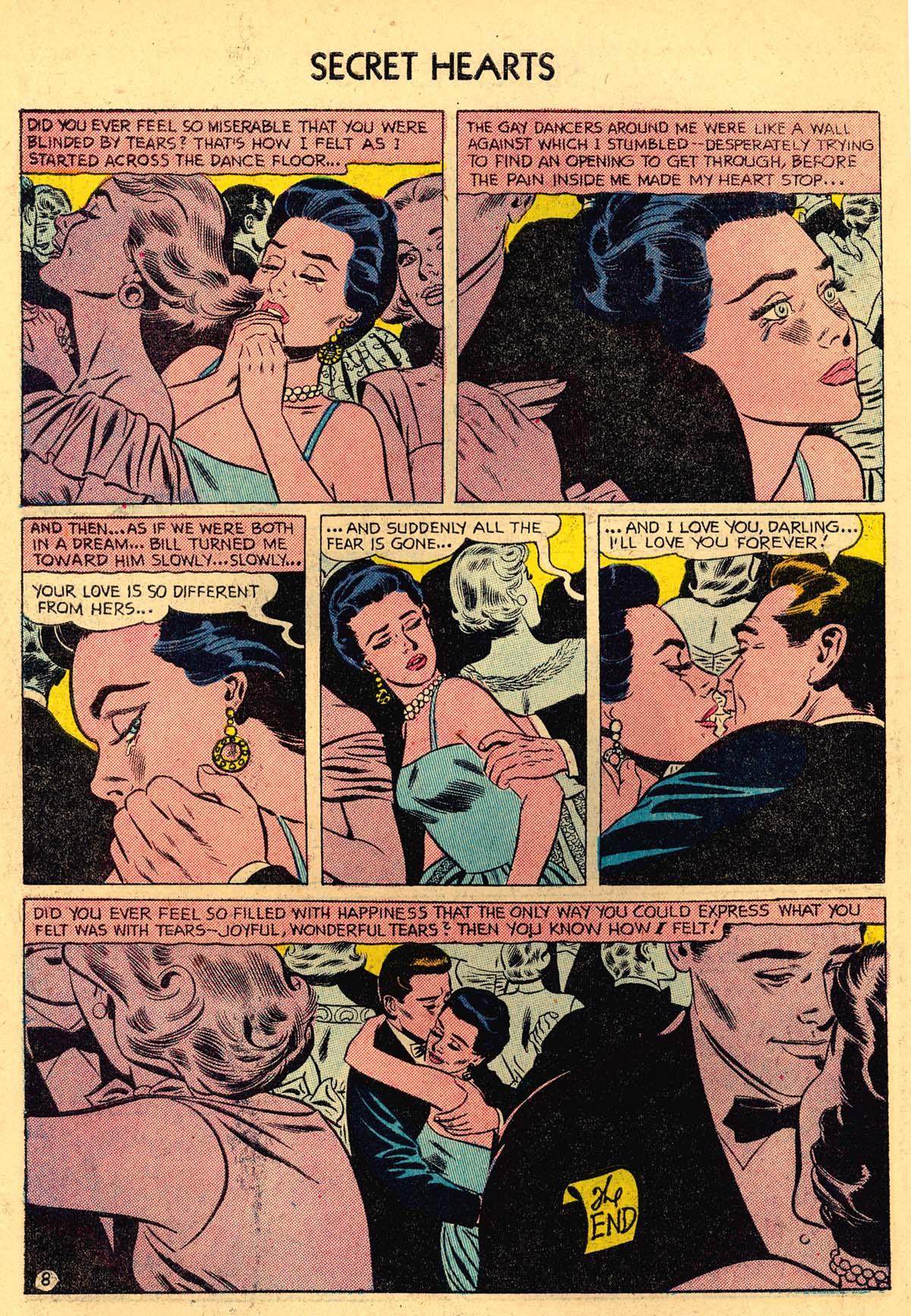 Read online Secret Hearts comic -  Issue #35 - 34