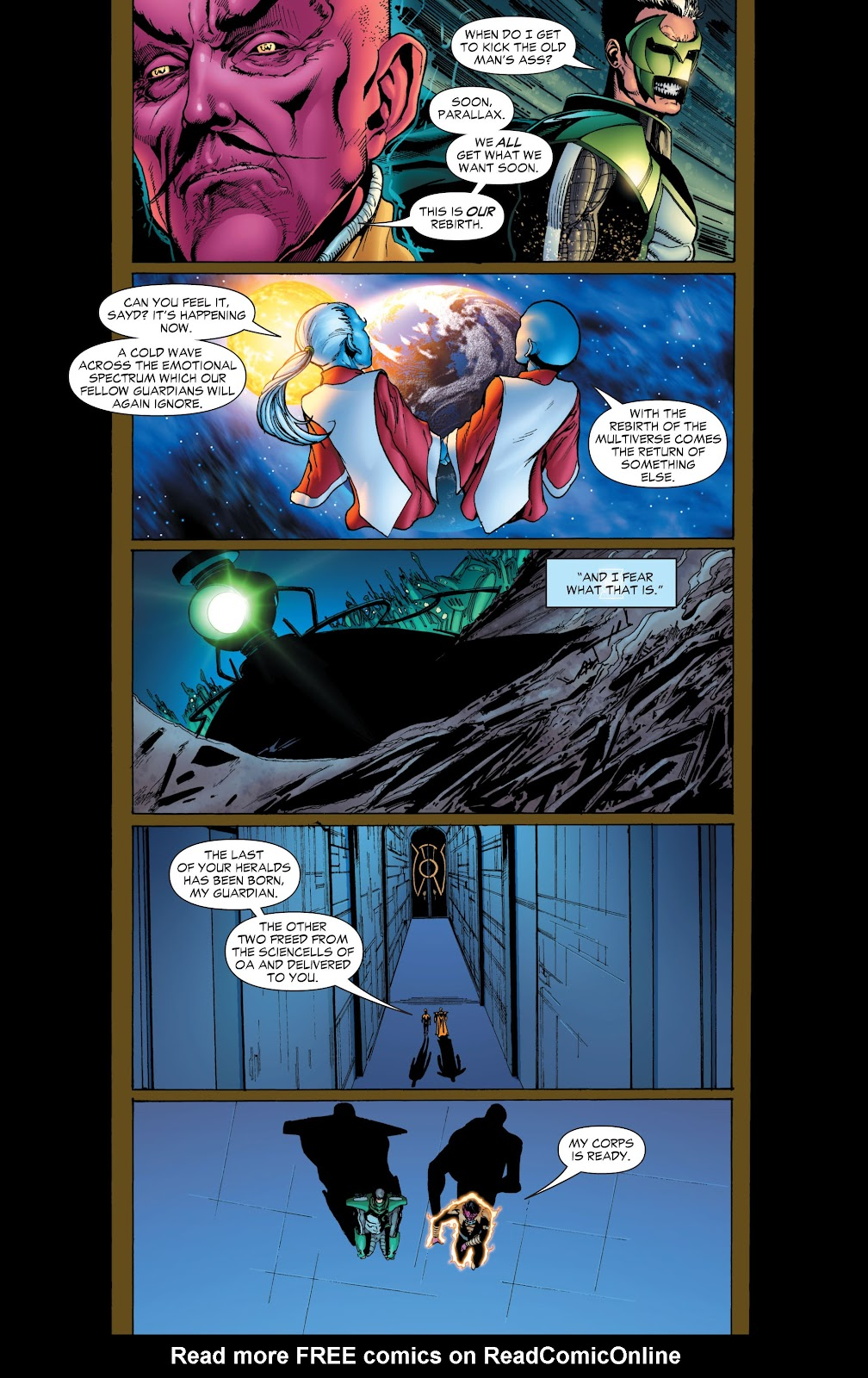 Green Lantern: The Sinestro Corps War Full #1 - English 47